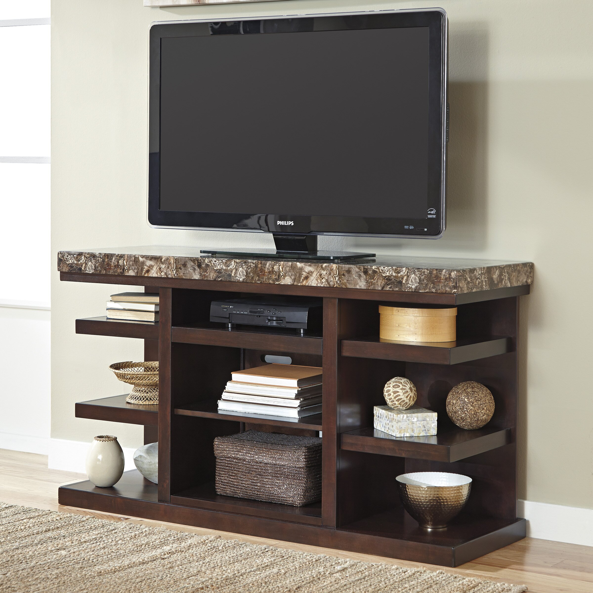 Panel Tv Stand Ashley Second