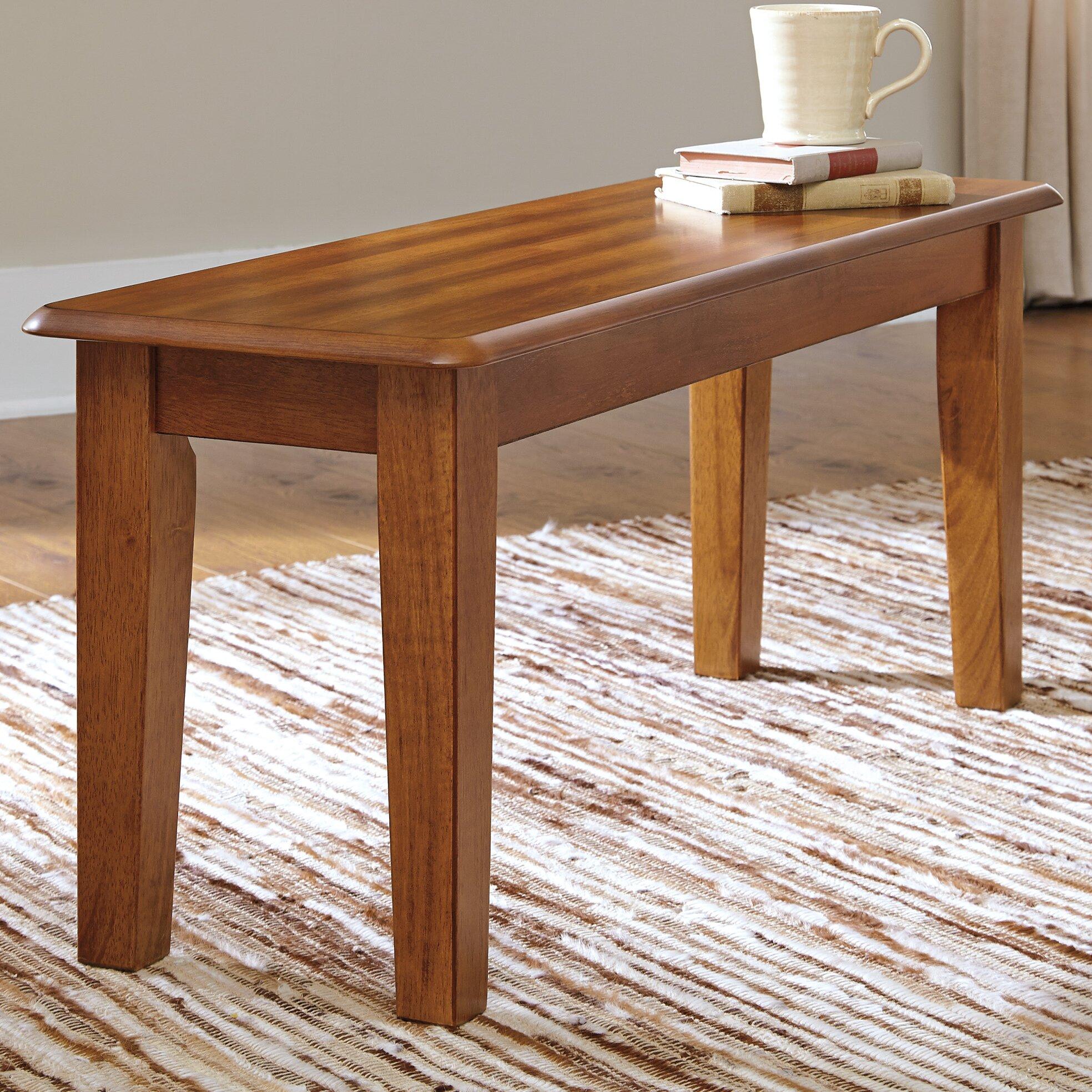 Loon Peak Wood Kitchen Bench & Reviews