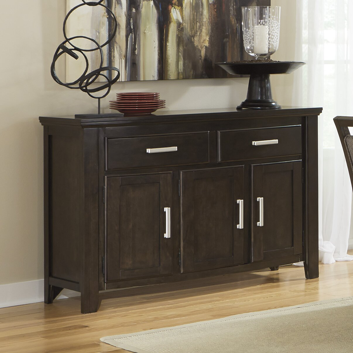 Dining Room Side Board: Signature Design By Ashley Lanquist Dining Room Sideboard