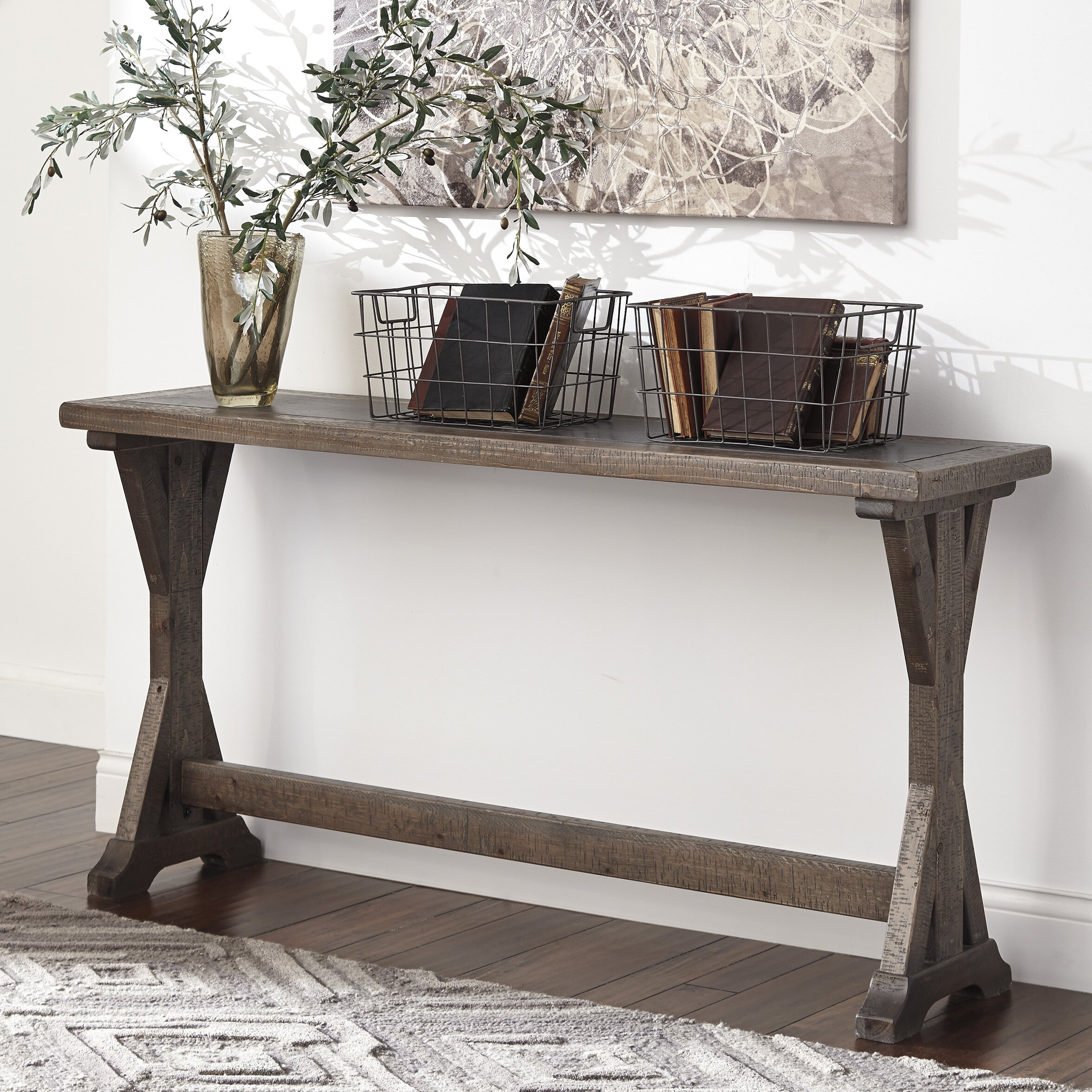 Wayfair Table: Signature Design By Ashley Valkner Console Table & Reviews