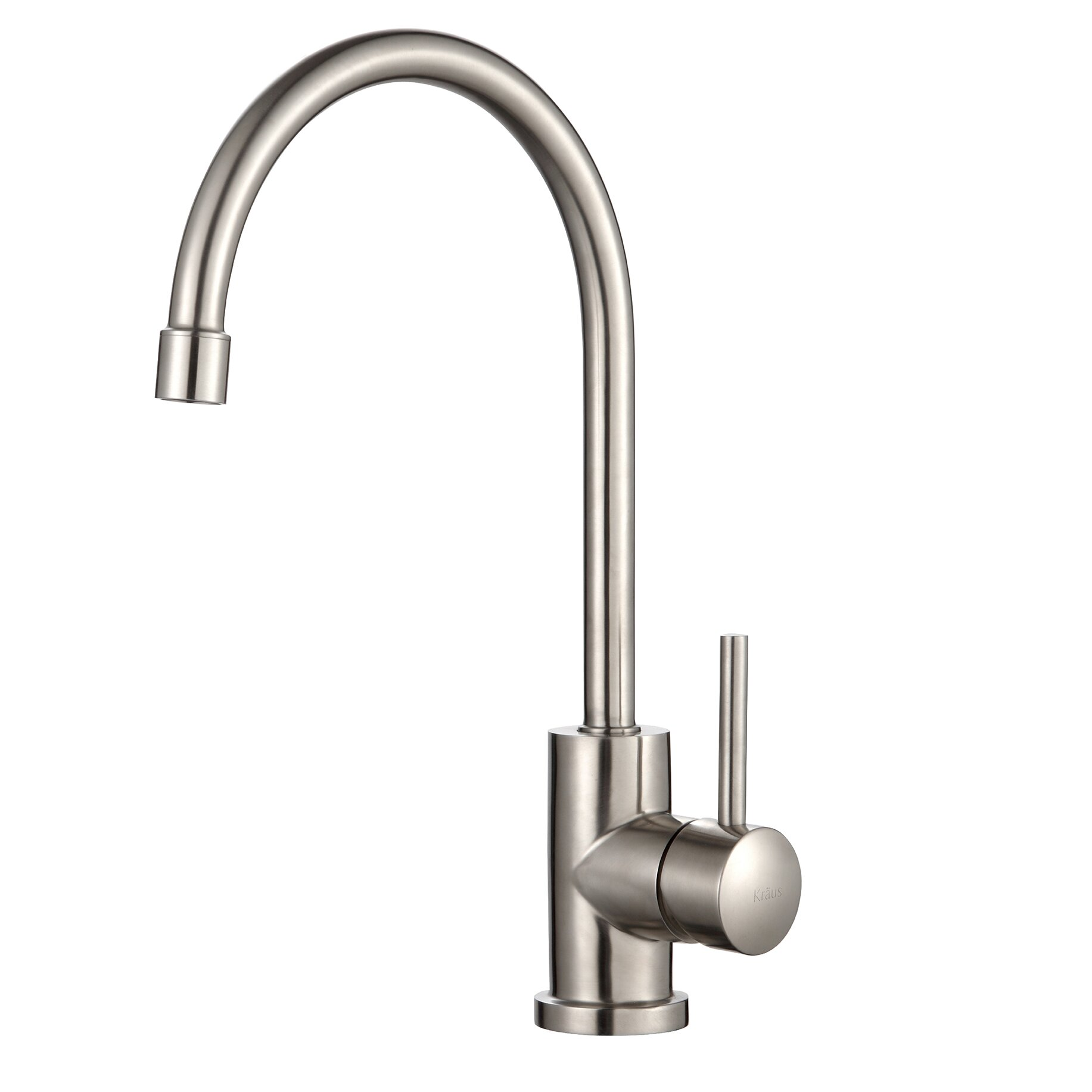 Mulder single hole kitchen faucet