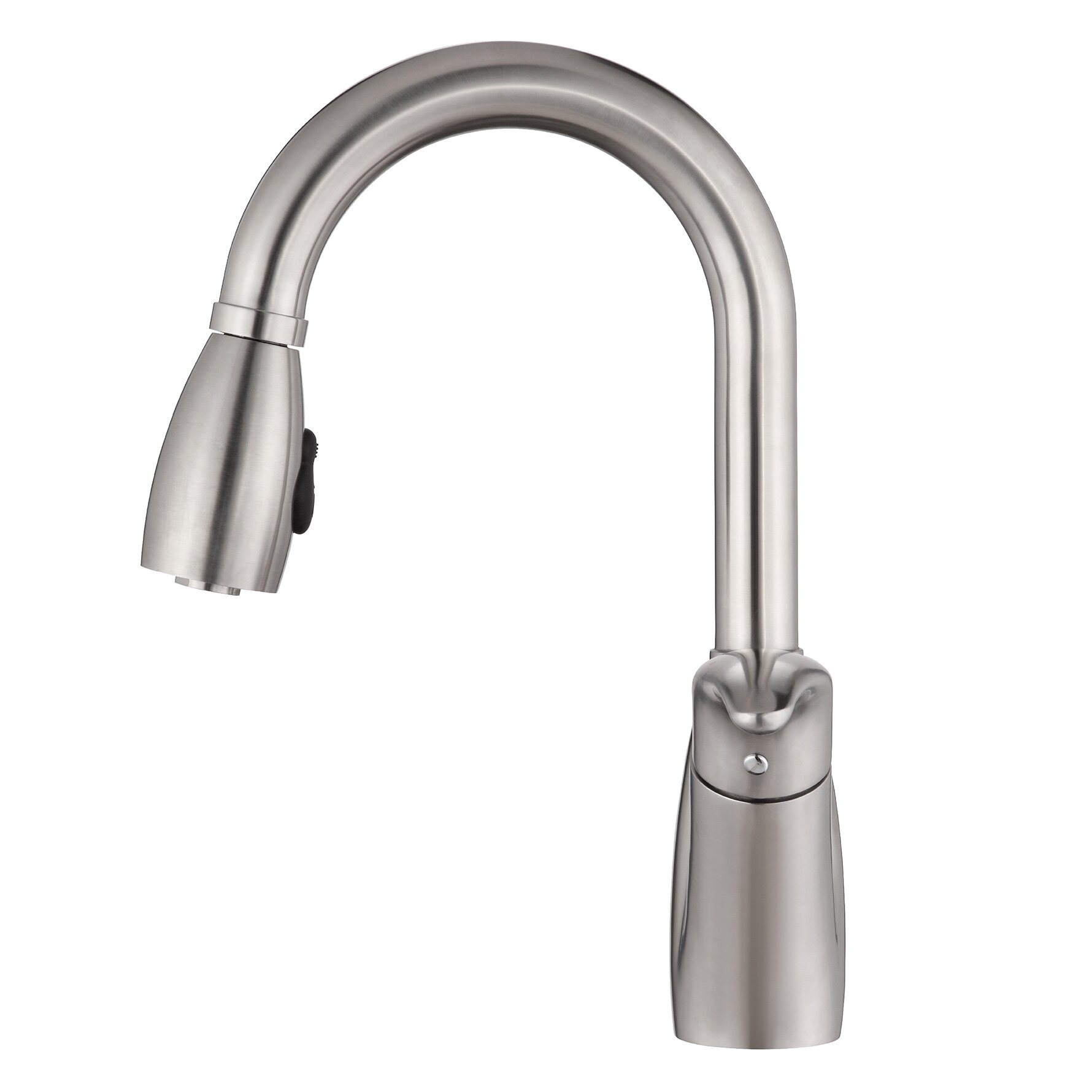 Kraus One Handle Single Hole Kitchen Faucet With Pull Out
