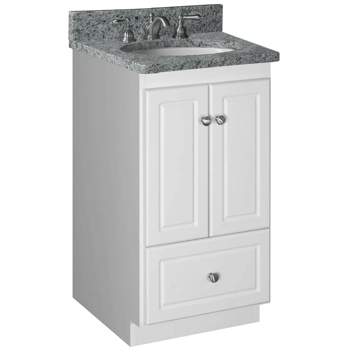"Strasser Woodenworks Simplicity 18"" Bathroom Vanity Base"