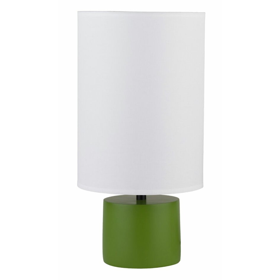 lights up devo 18 h table lamp with drum shade reviews. Black Bedroom Furniture Sets. Home Design Ideas
