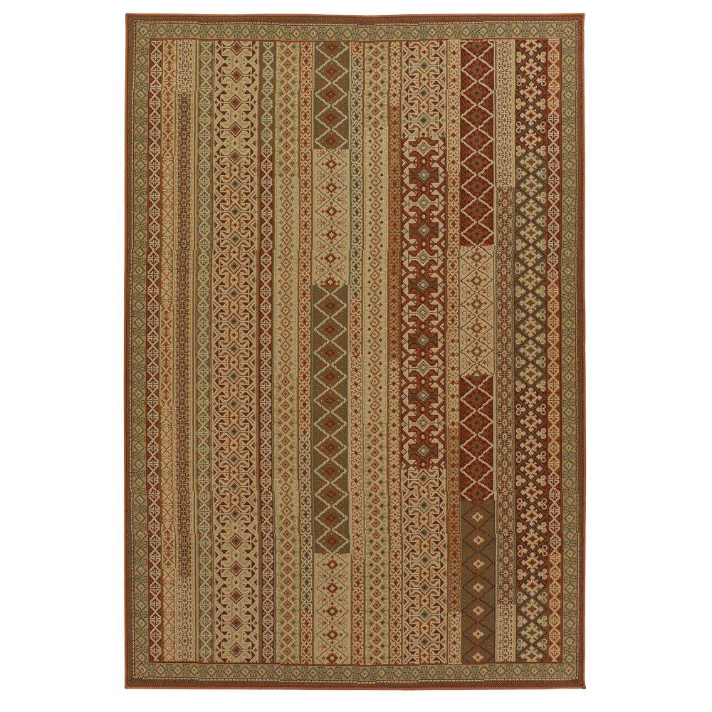 Chandra Ryan Brown Indoor Outdoor Area Rug & Reviews