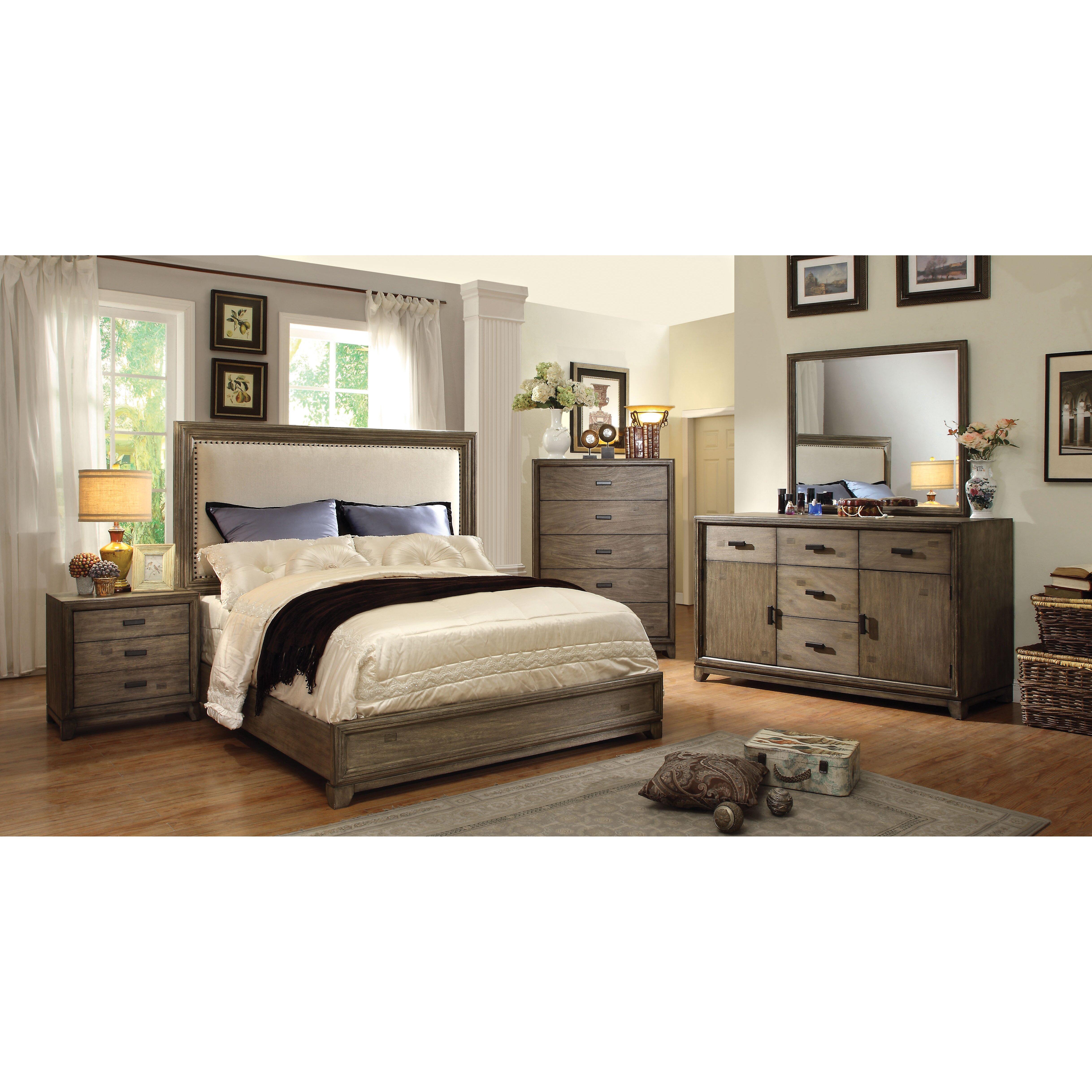 Hokku Designs Karla Platform Customizable Bedroom Set