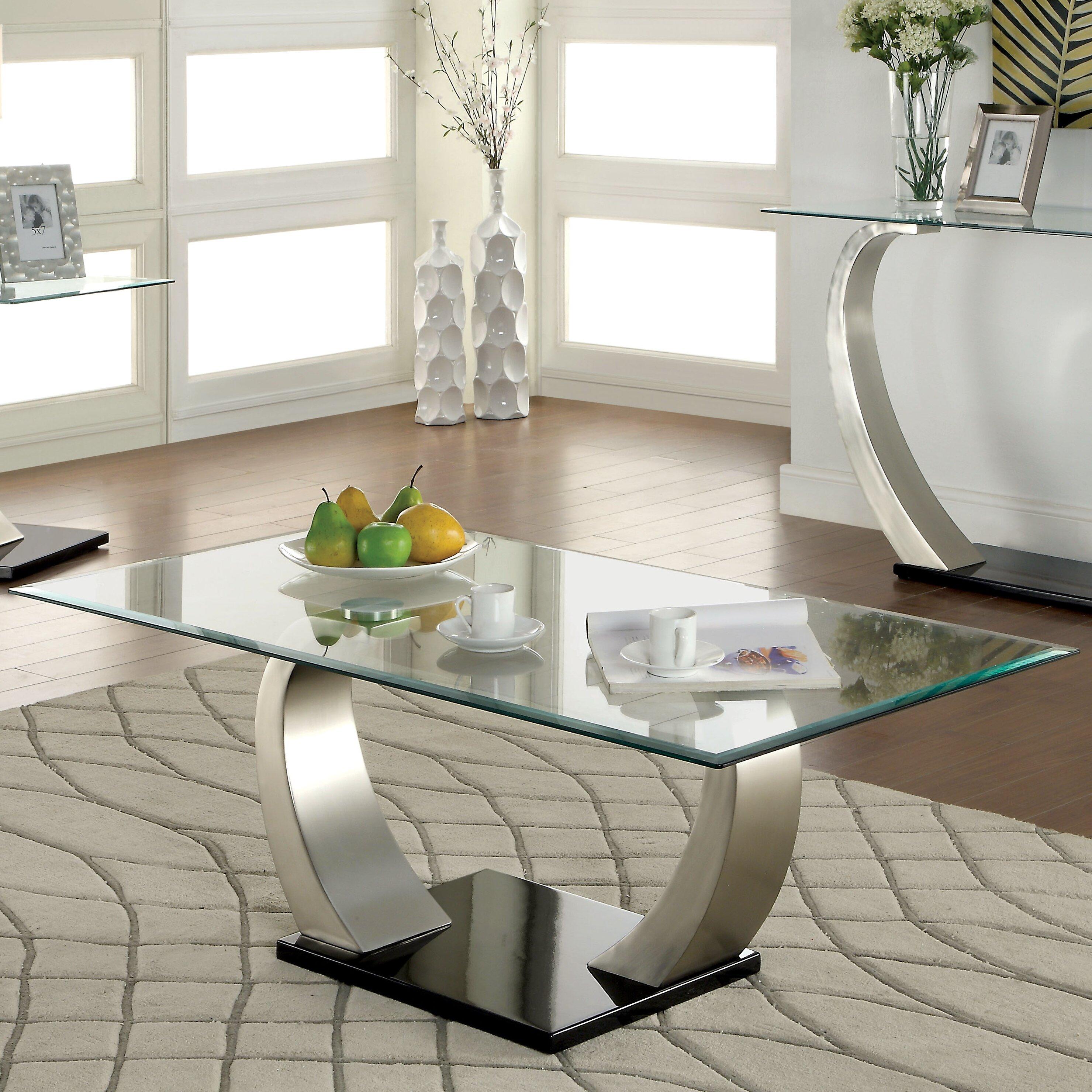 Hokku Designs Natalia Coffee Table Reviews Wayfair