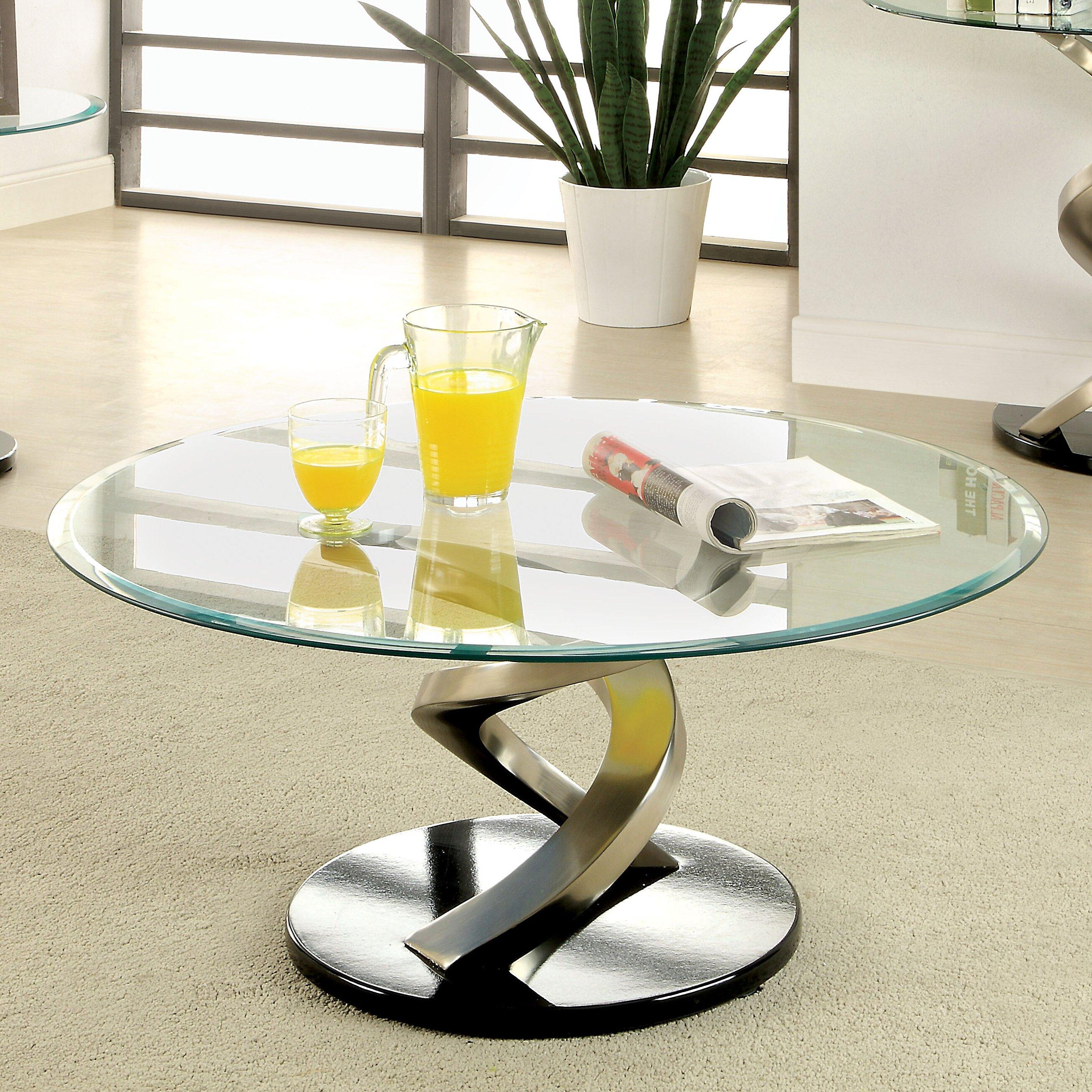Hokku Designs Rowena Coffee Table Reviews Wayfair
