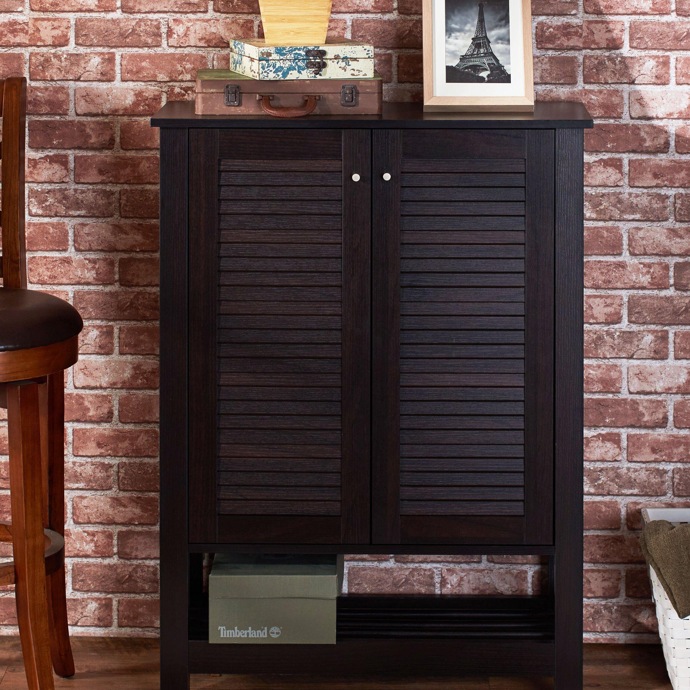 Hokku Designs Faunia Shoe Cabinet Reviews Wayfair