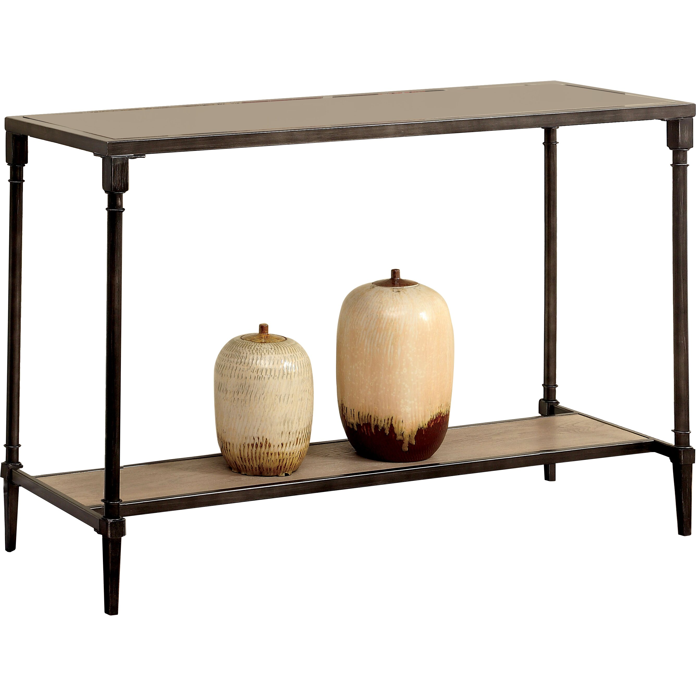 Hokku Designs Leons Console Table Amp Reviews Wayfair