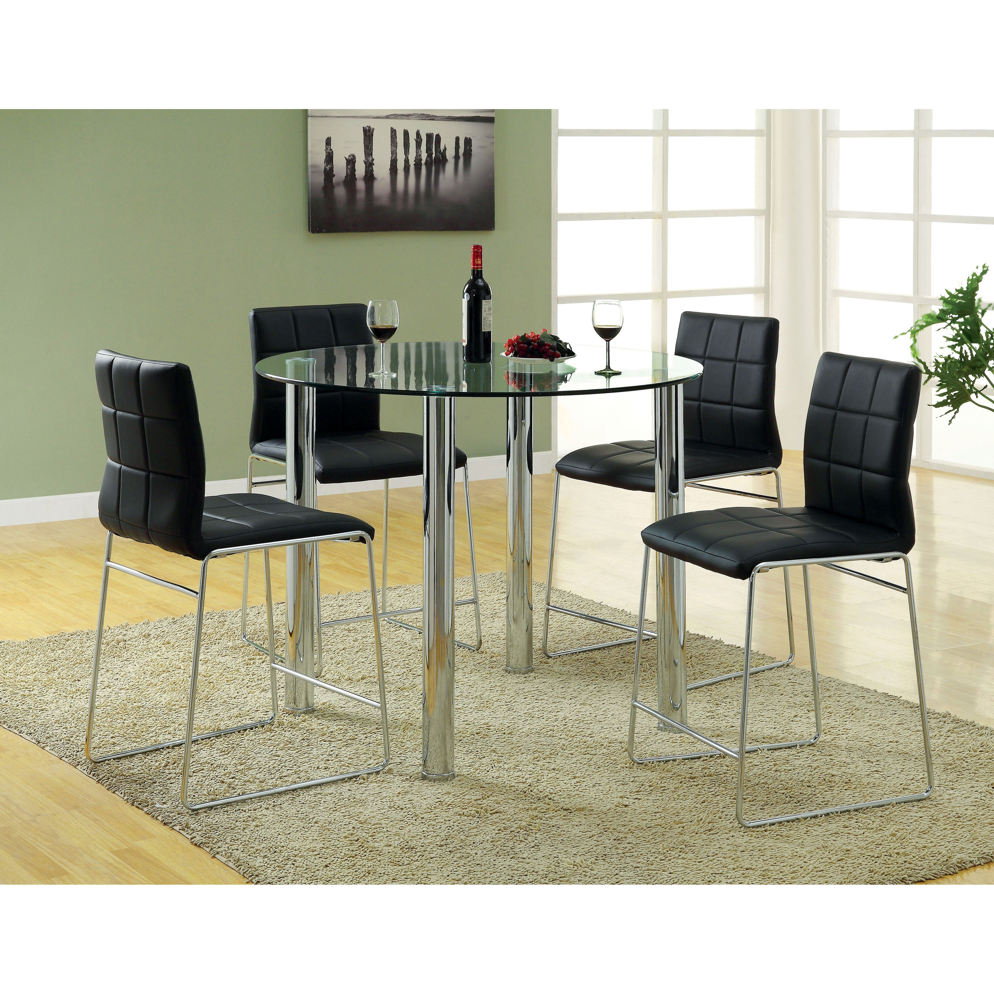 Kitchen Table Remodel: Hokku Designs Narbo Round Counter Height Dining Table