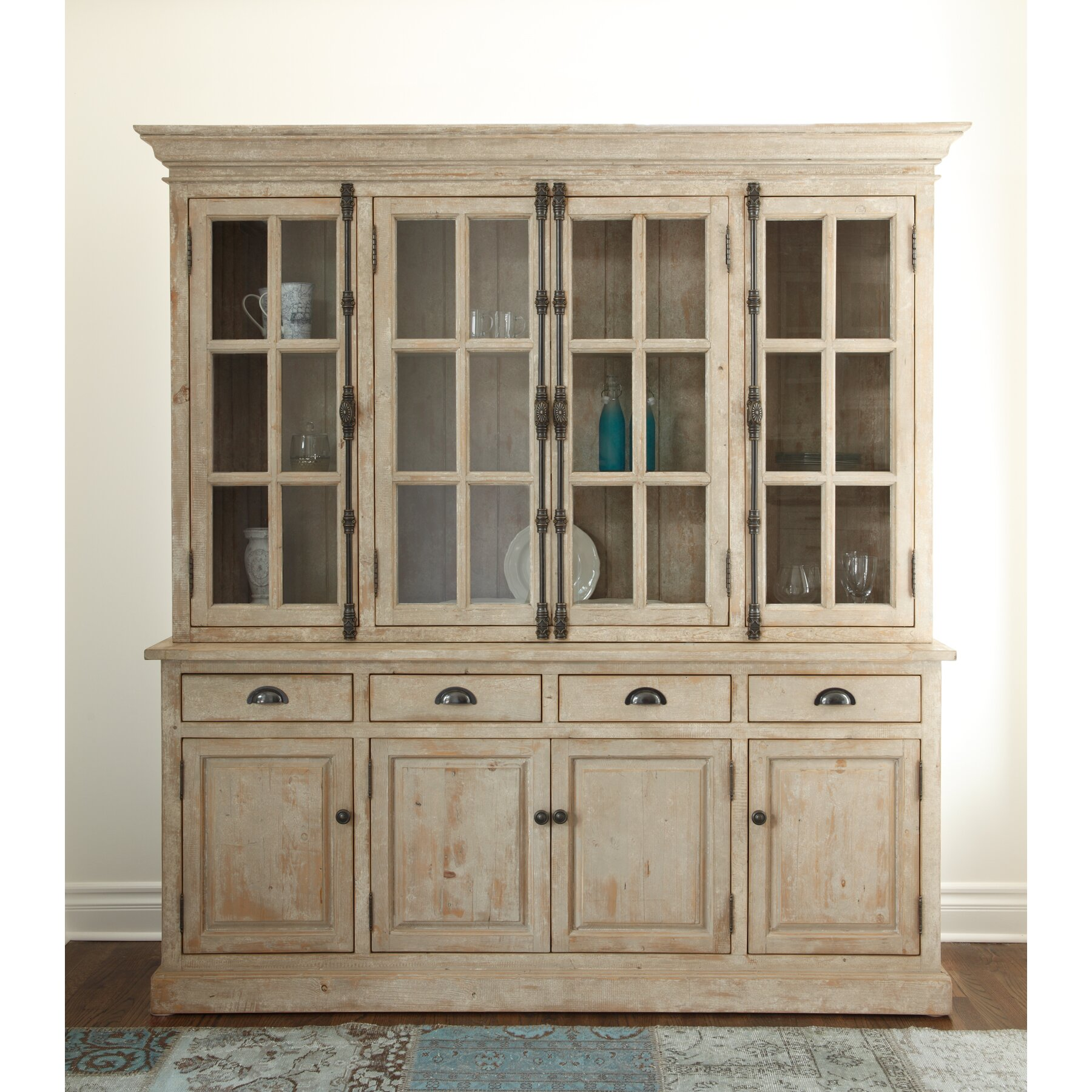 Hutch For Dining Room: Kosas Home Elodie Hutch Cabinet (Set) & Reviews