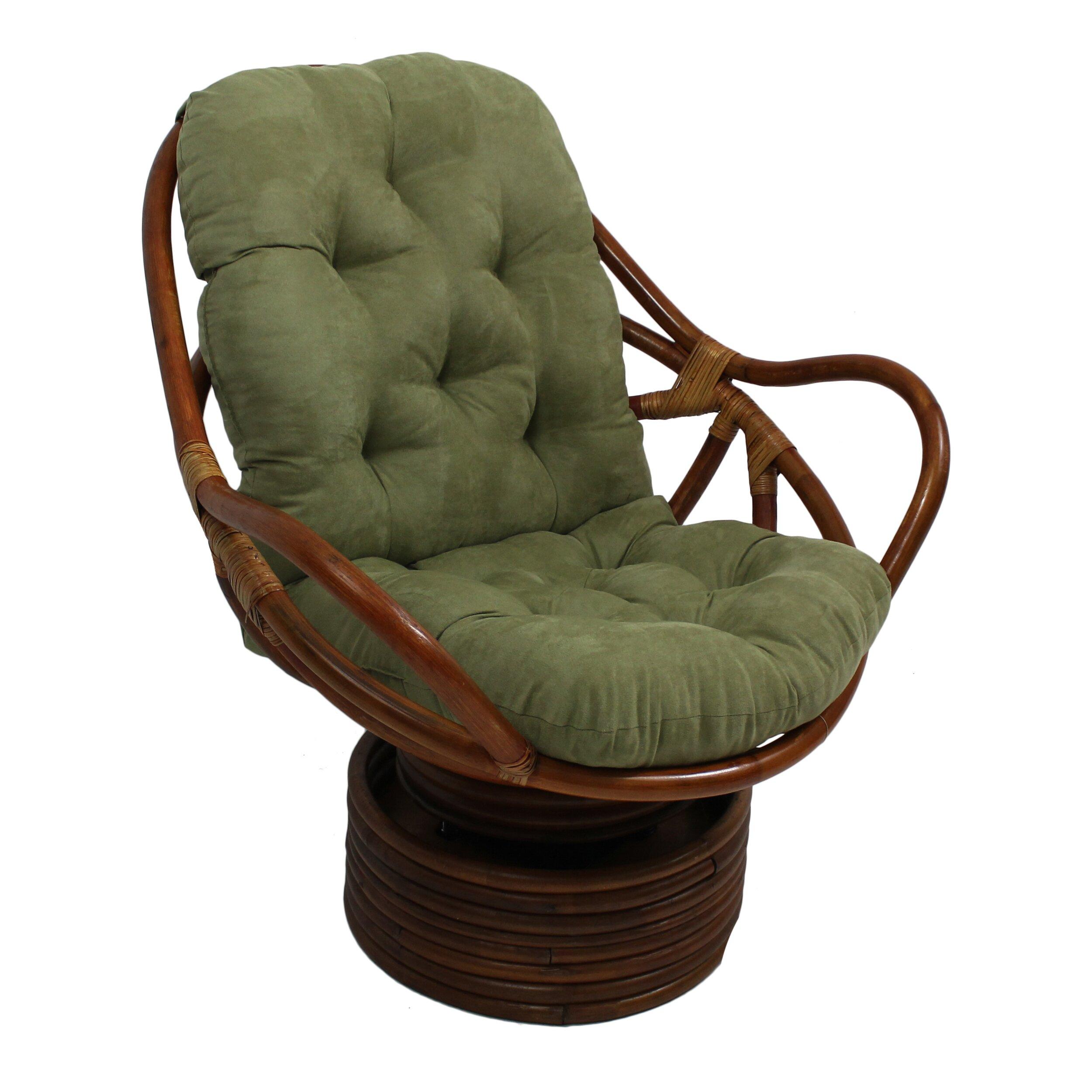 Make Wicker Chair Cushions Blazing Needles Premium Swivel Rocker Cushion