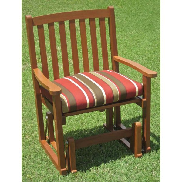Blazing Needles Monserrat Outdoor Adirondack Chair Cushion