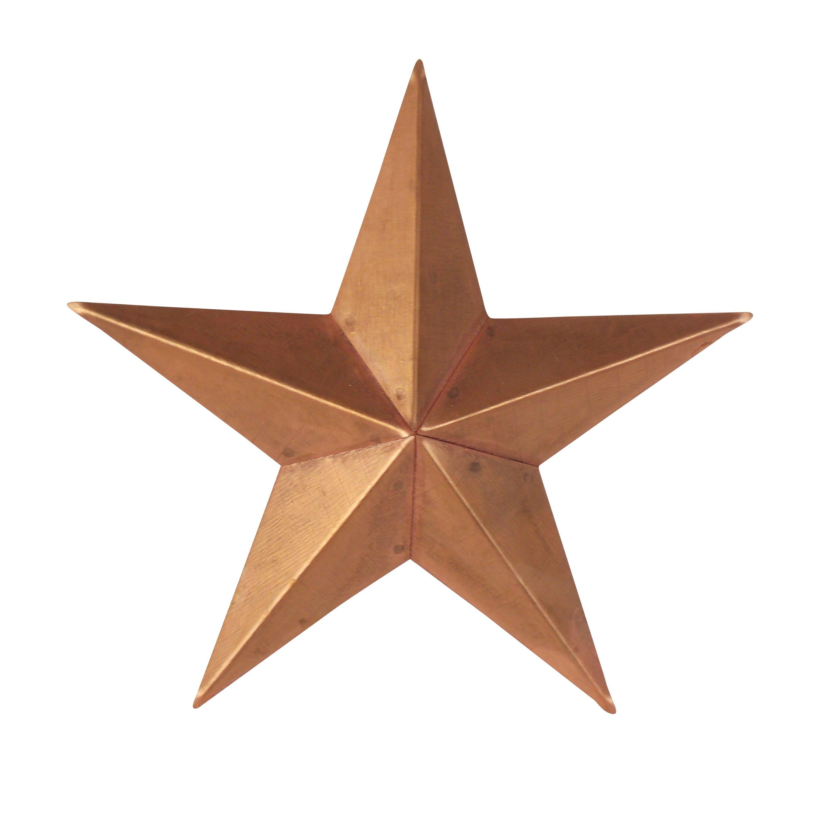 Craft Outlet Tin Star Wall Décor & Reviews