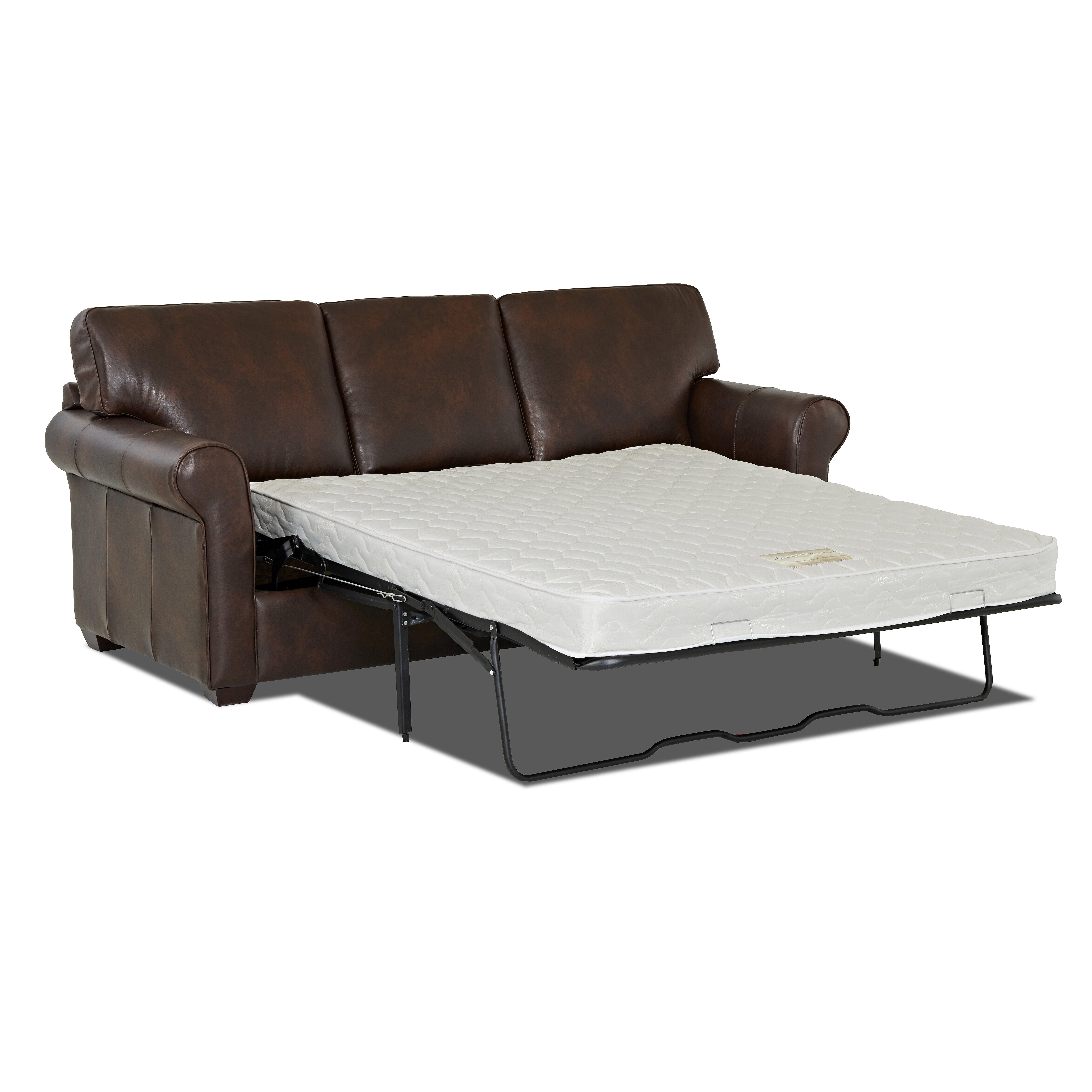 Wayfair Custom Upholstery Rachel Leather Sleeper Sofa