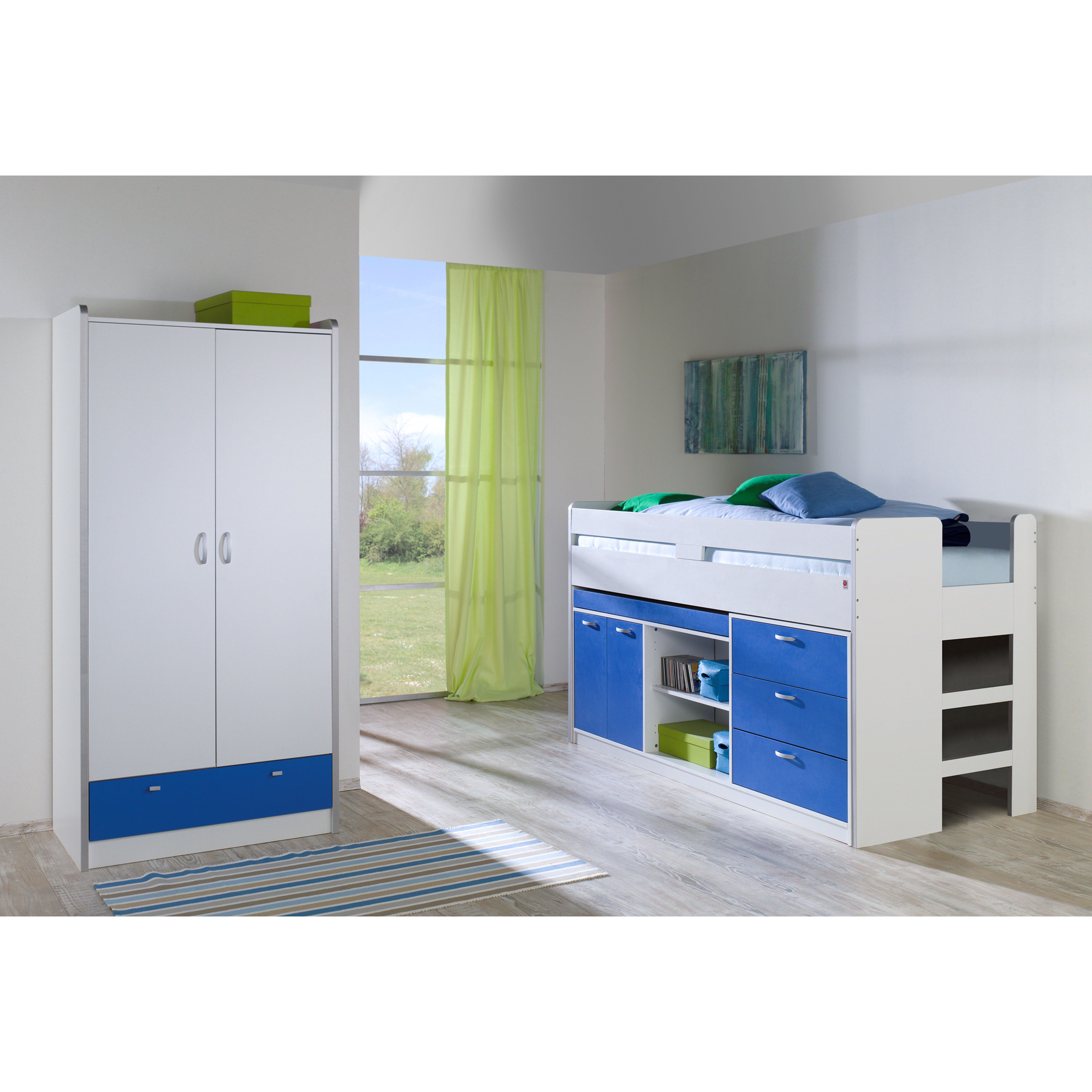 2 tlg schlafzimmer set bonny 90 x 200 cm von relita for Schlafzimmer set italienisch