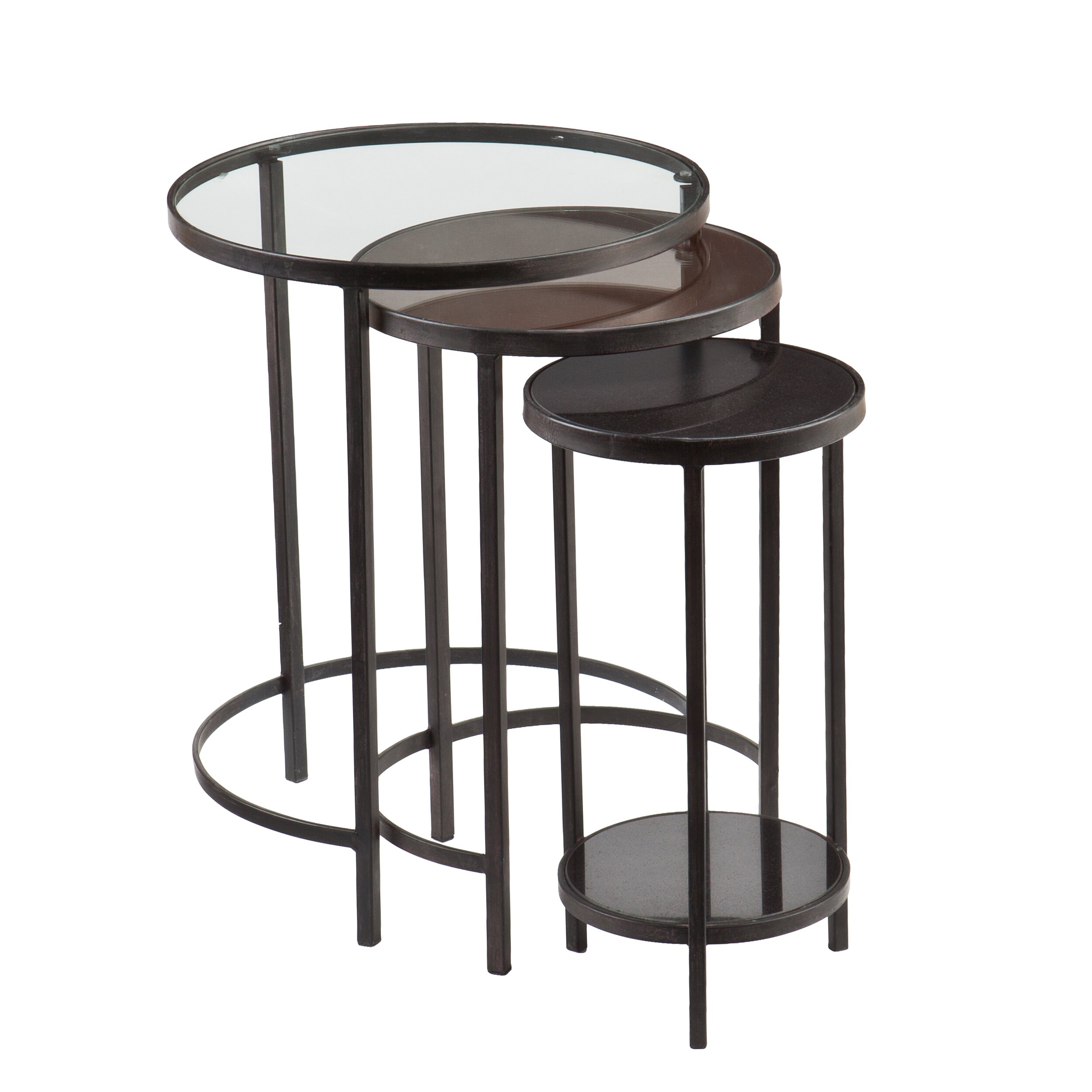 Holly Amp Martin Ocelle 3 Piece Nesting Table Set Amp Reviews