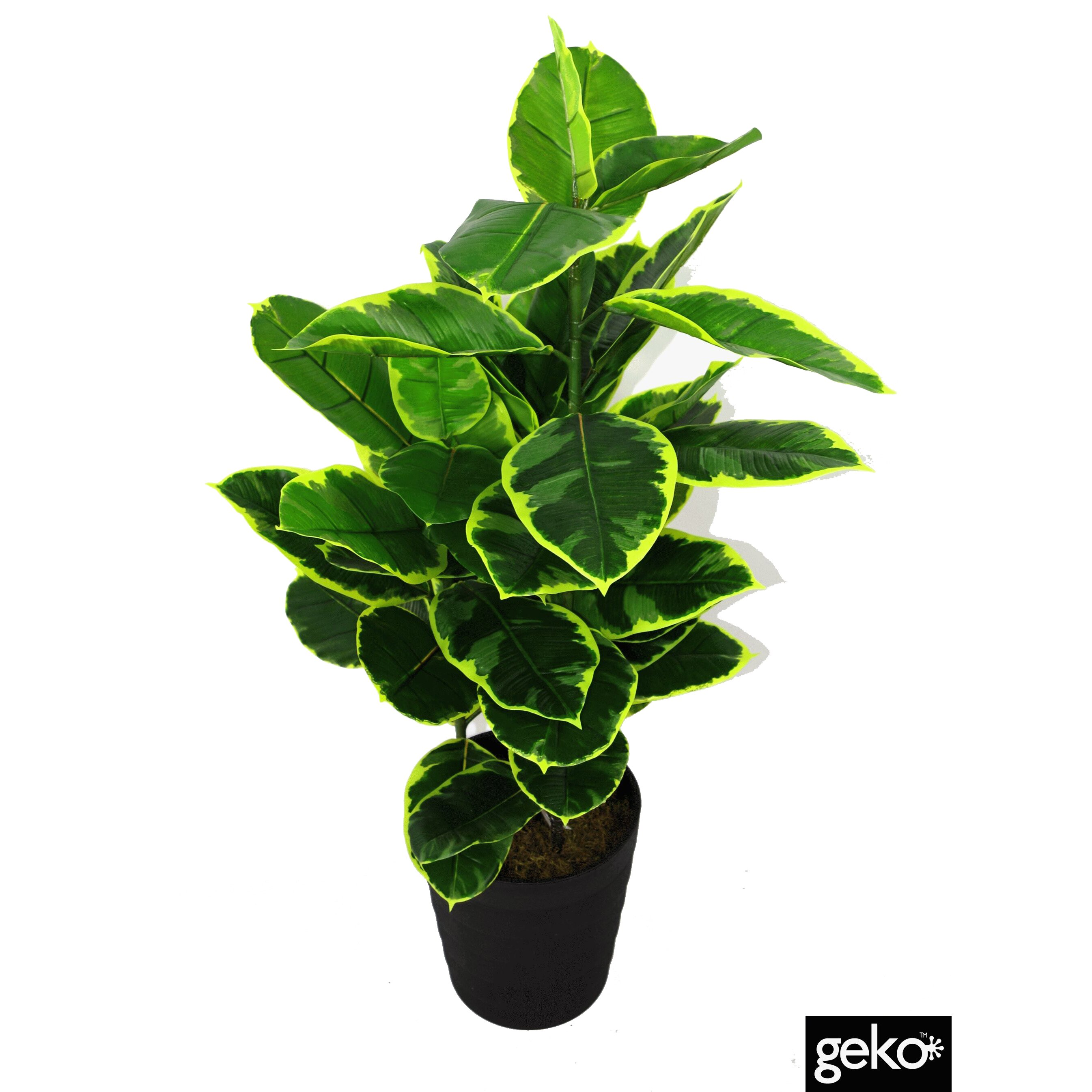 artificial rubber ficus plant wayfair uk