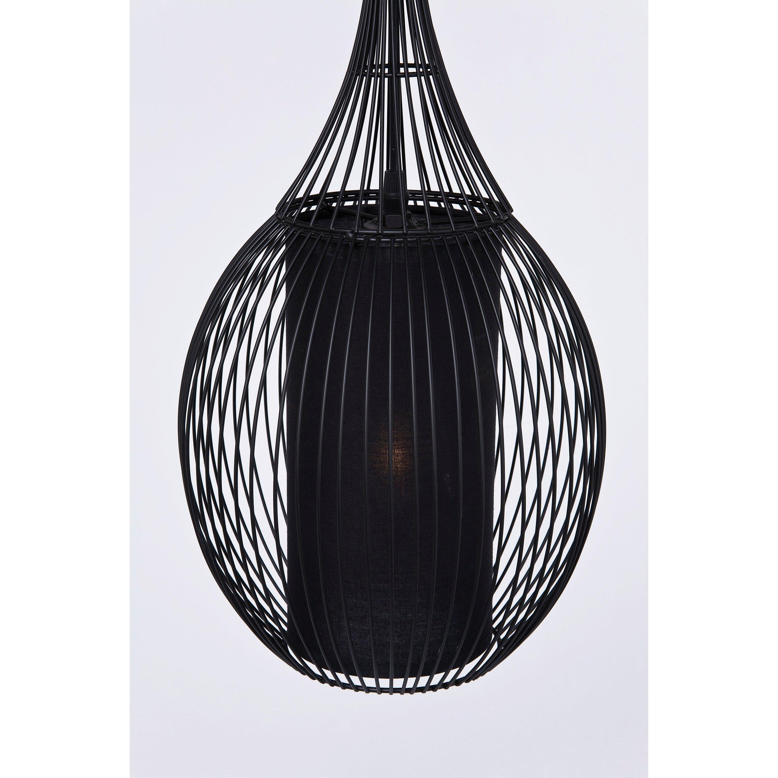 pendelleuchte 1 flammig swing iron von kare design. Black Bedroom Furniture Sets. Home Design Ideas