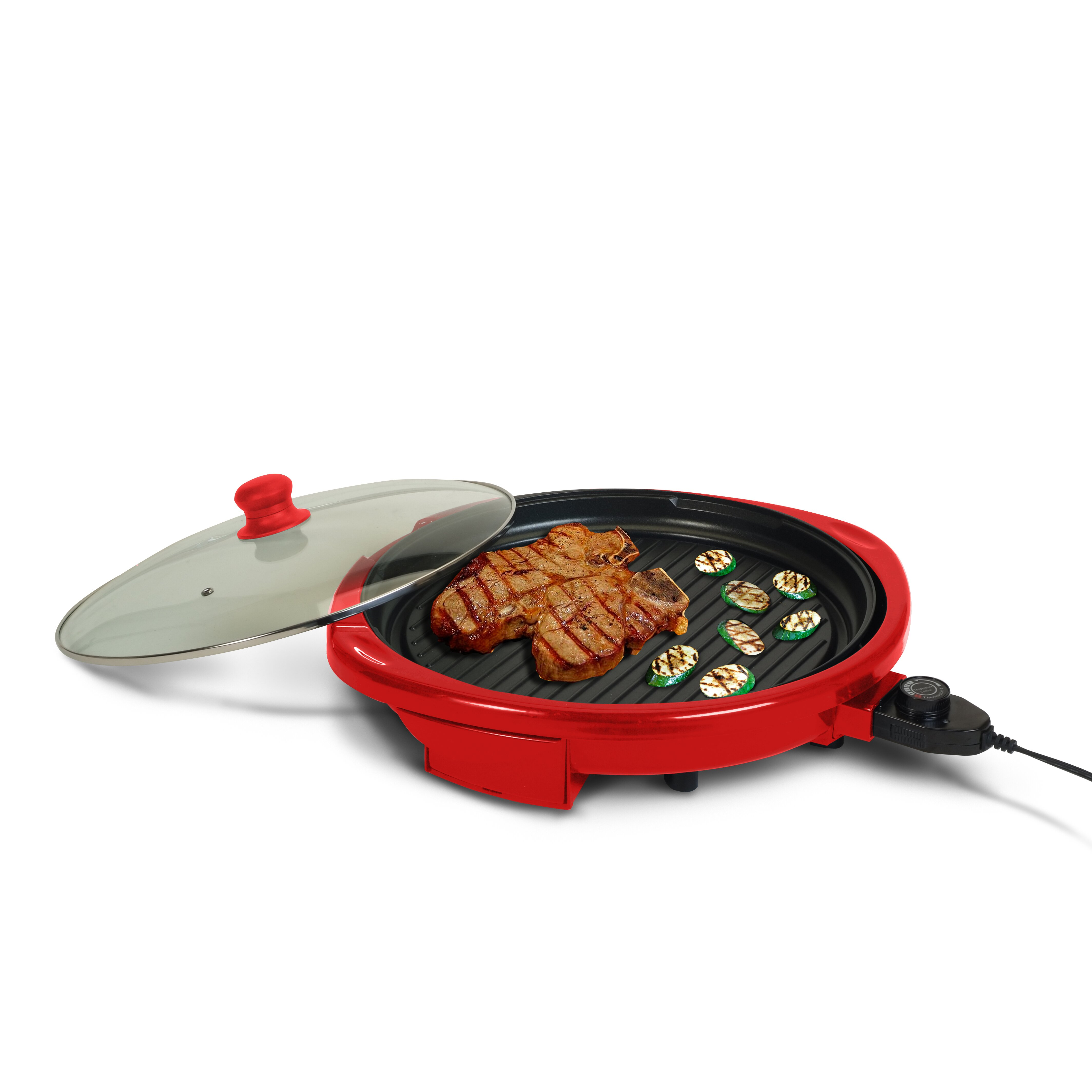 "Elite by Maxi-Matic Gourmet 14"" Electric Indoor Grill with ..."