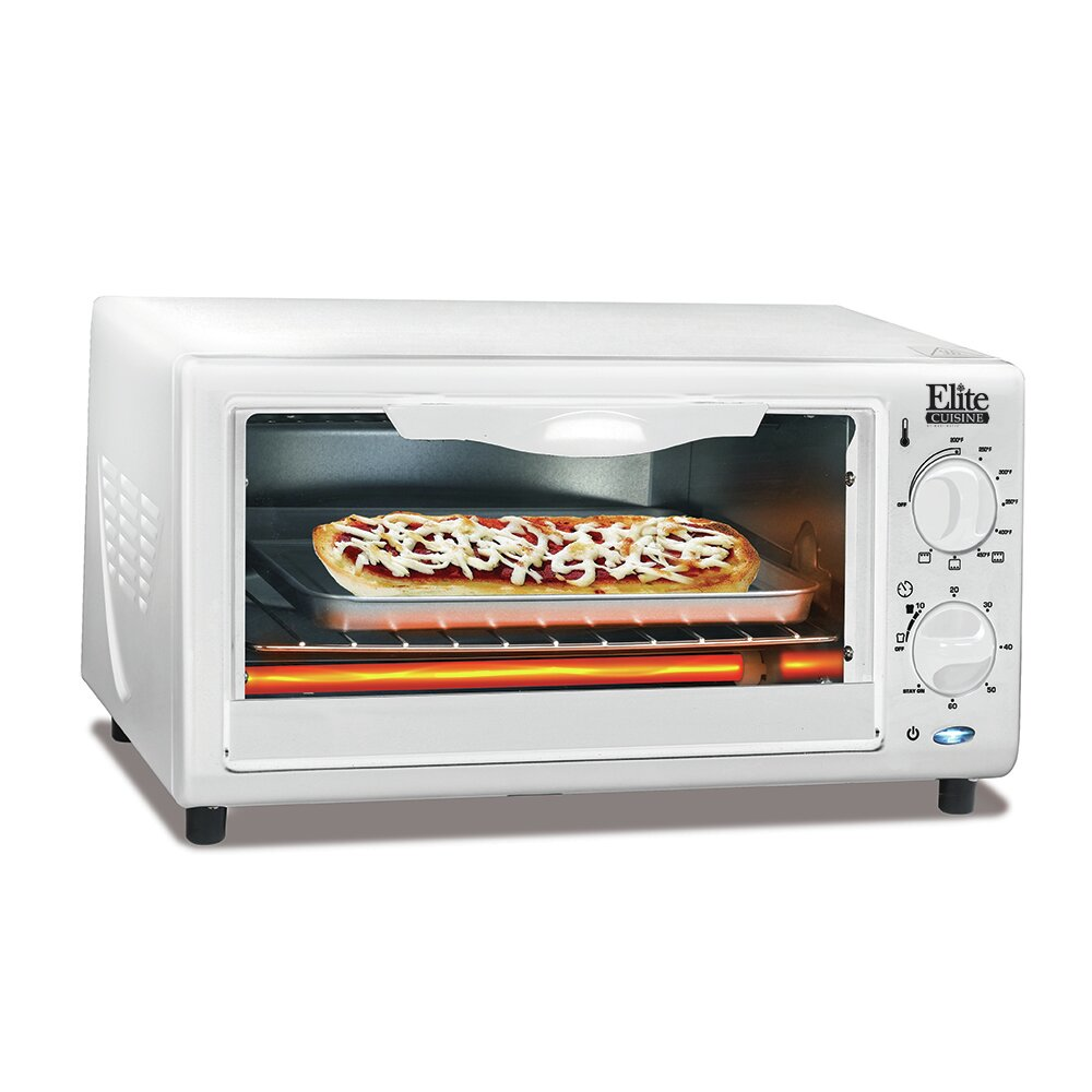 Cuisine 4 Slice Oven Broiler Toaster Wayfair