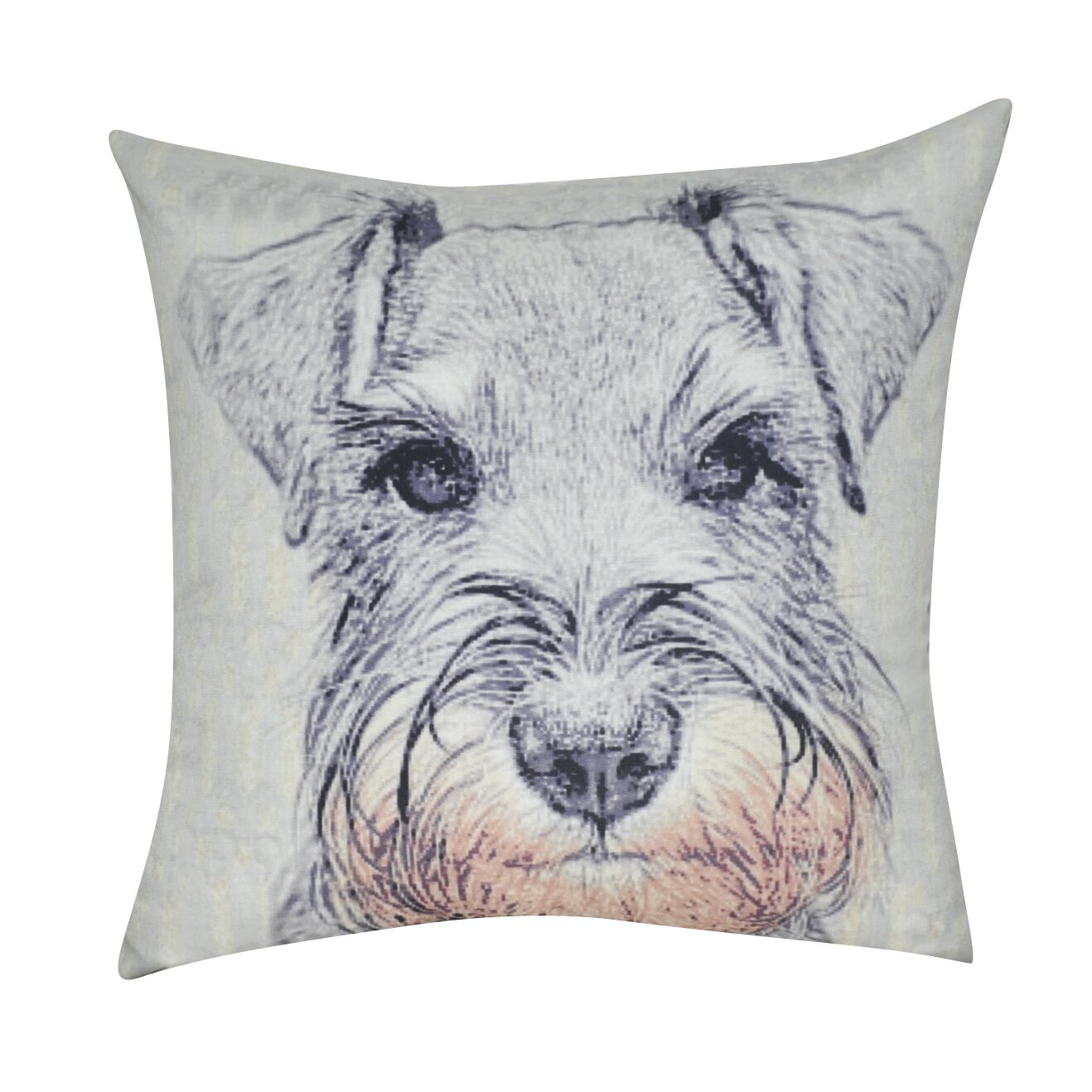 Loom And Mill Schnauzer Decorative Throw Pillow Amp Reviews
