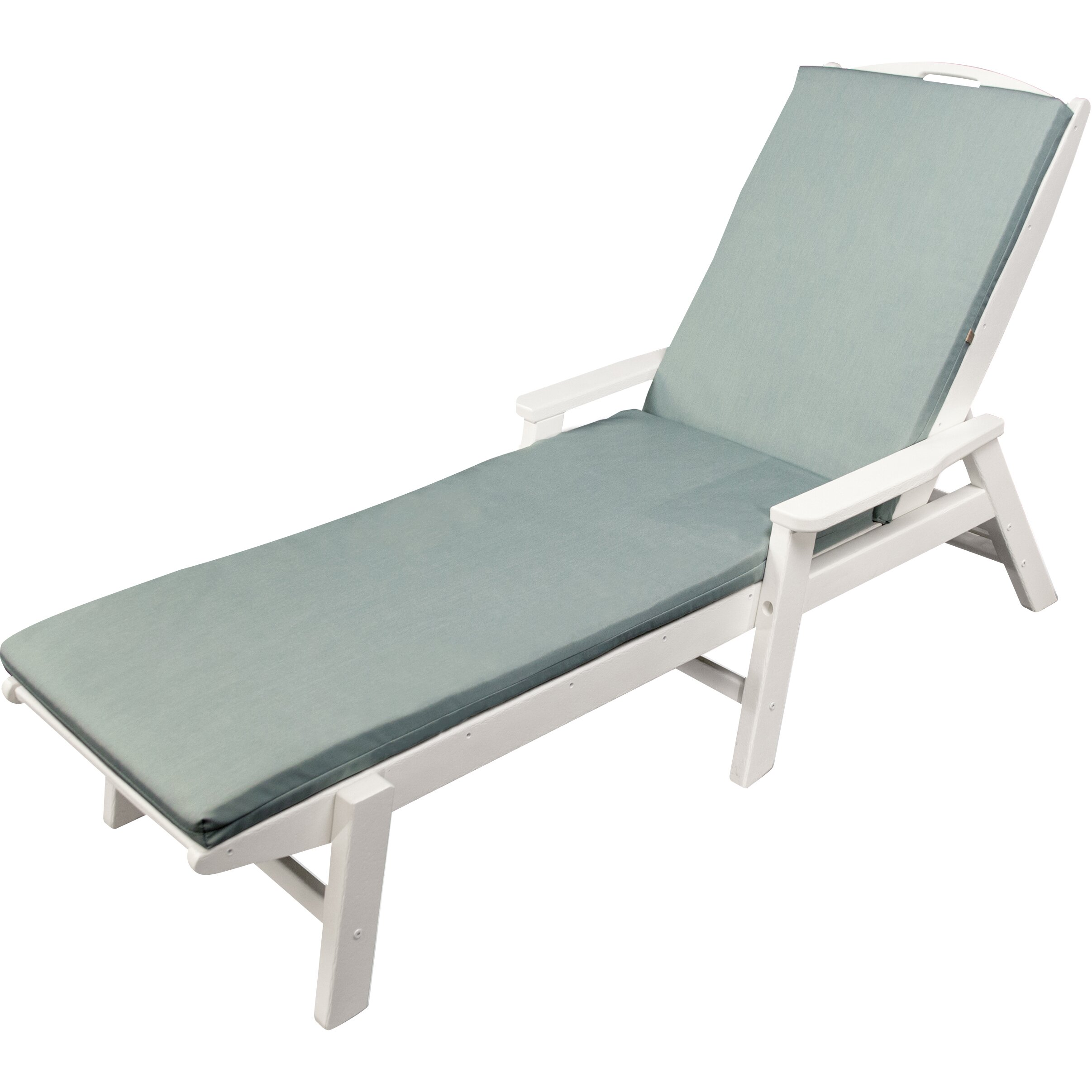 Ateeva Outdoor Chaise Lounge Cushion & Reviews