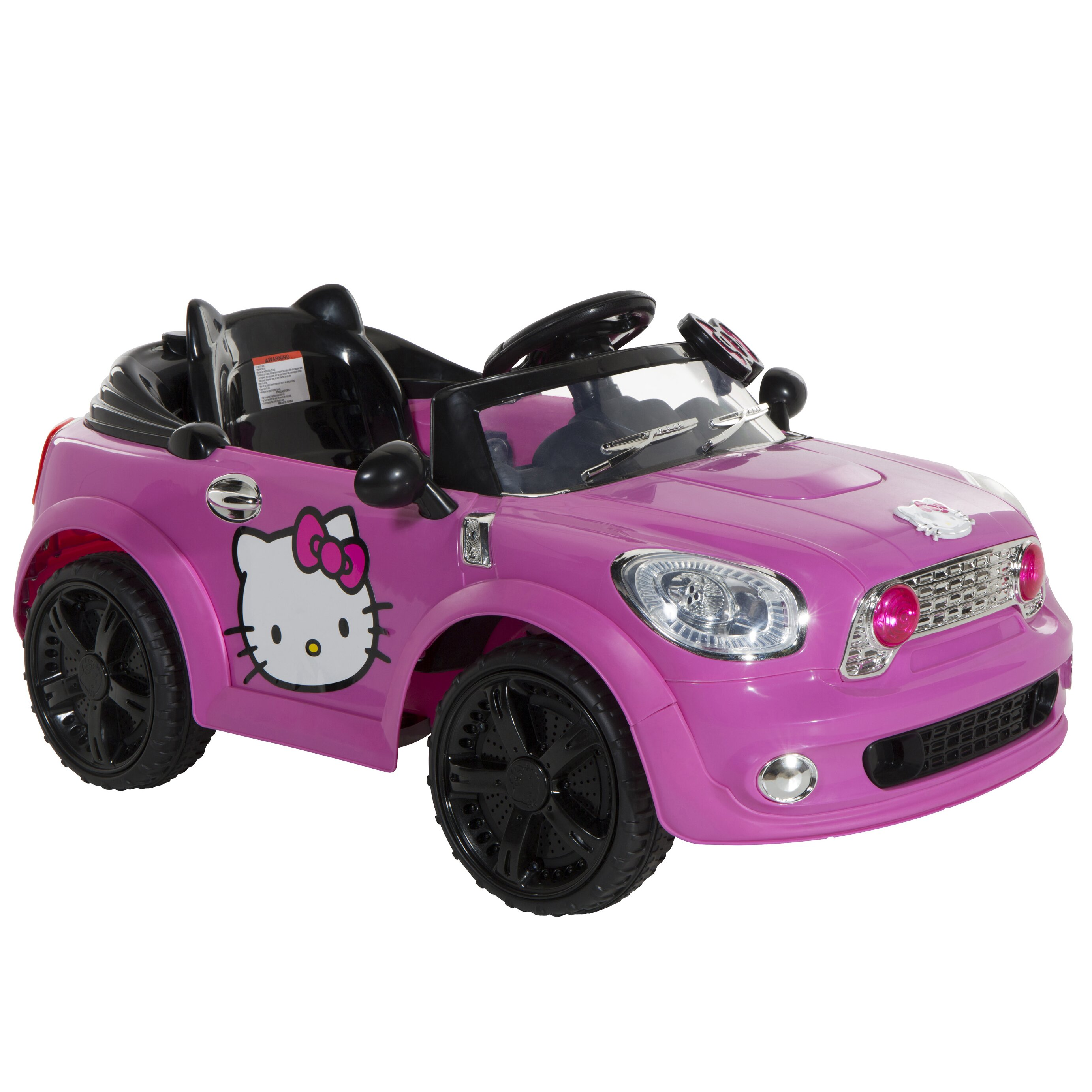 Hello Kitty Coupe 6v Battery Powered Car Wayfair