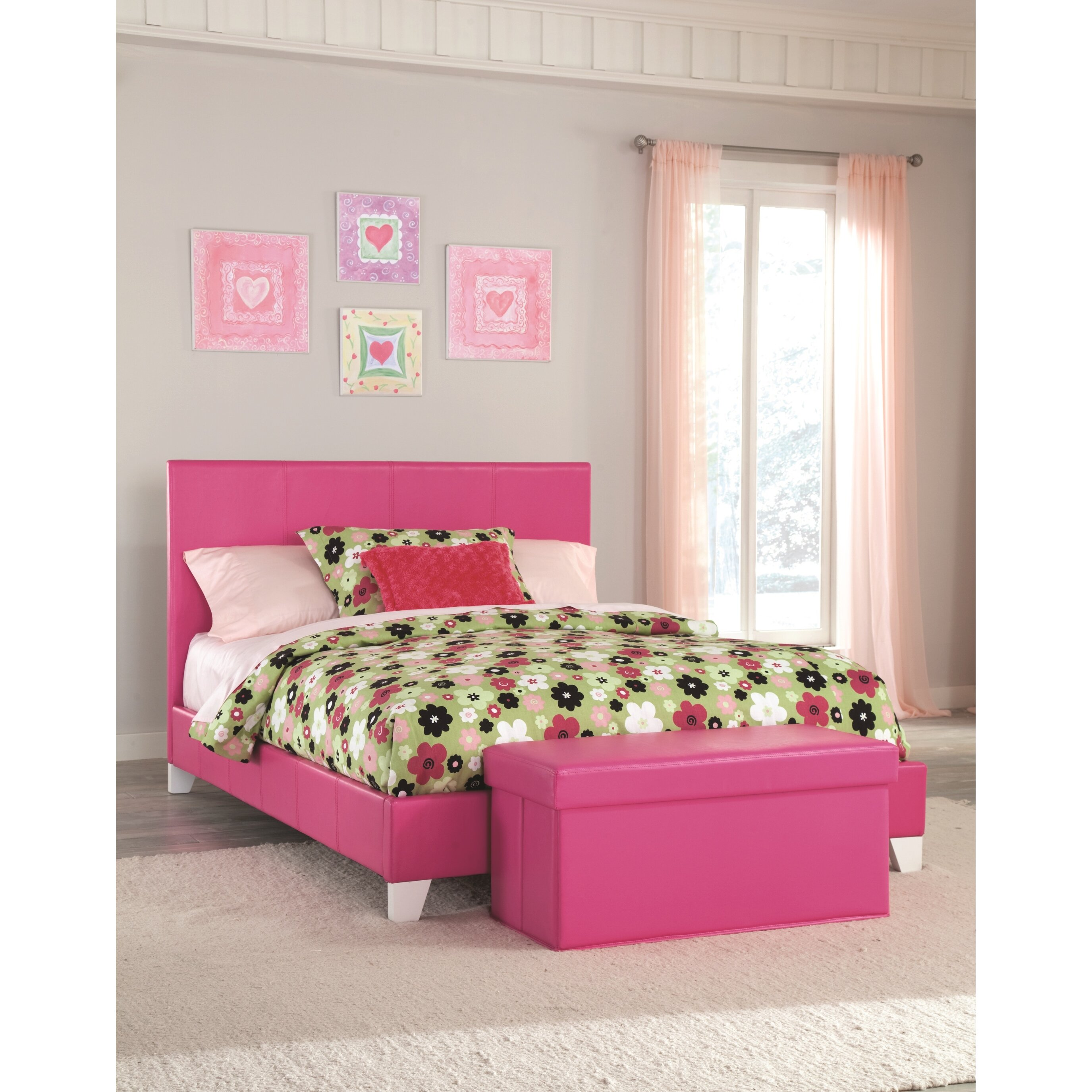 Brady Furniture Industries Trisha Panel Bed & Reviews