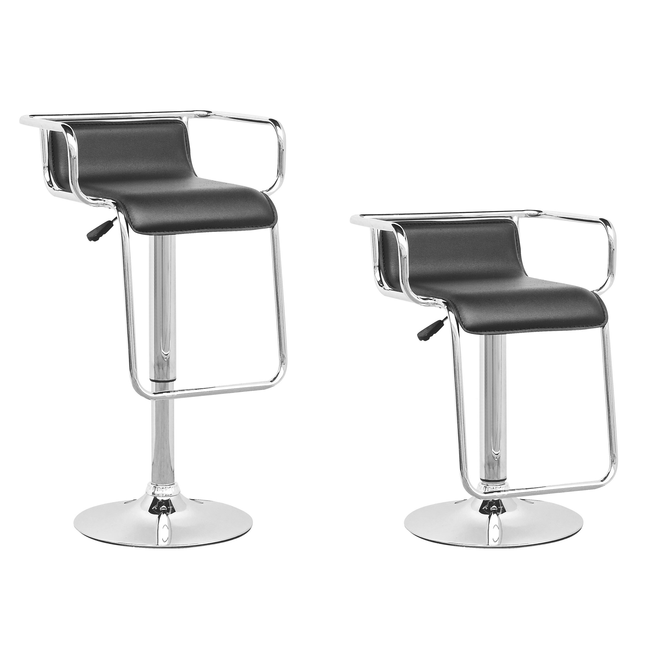 images of adjustable height bar stools