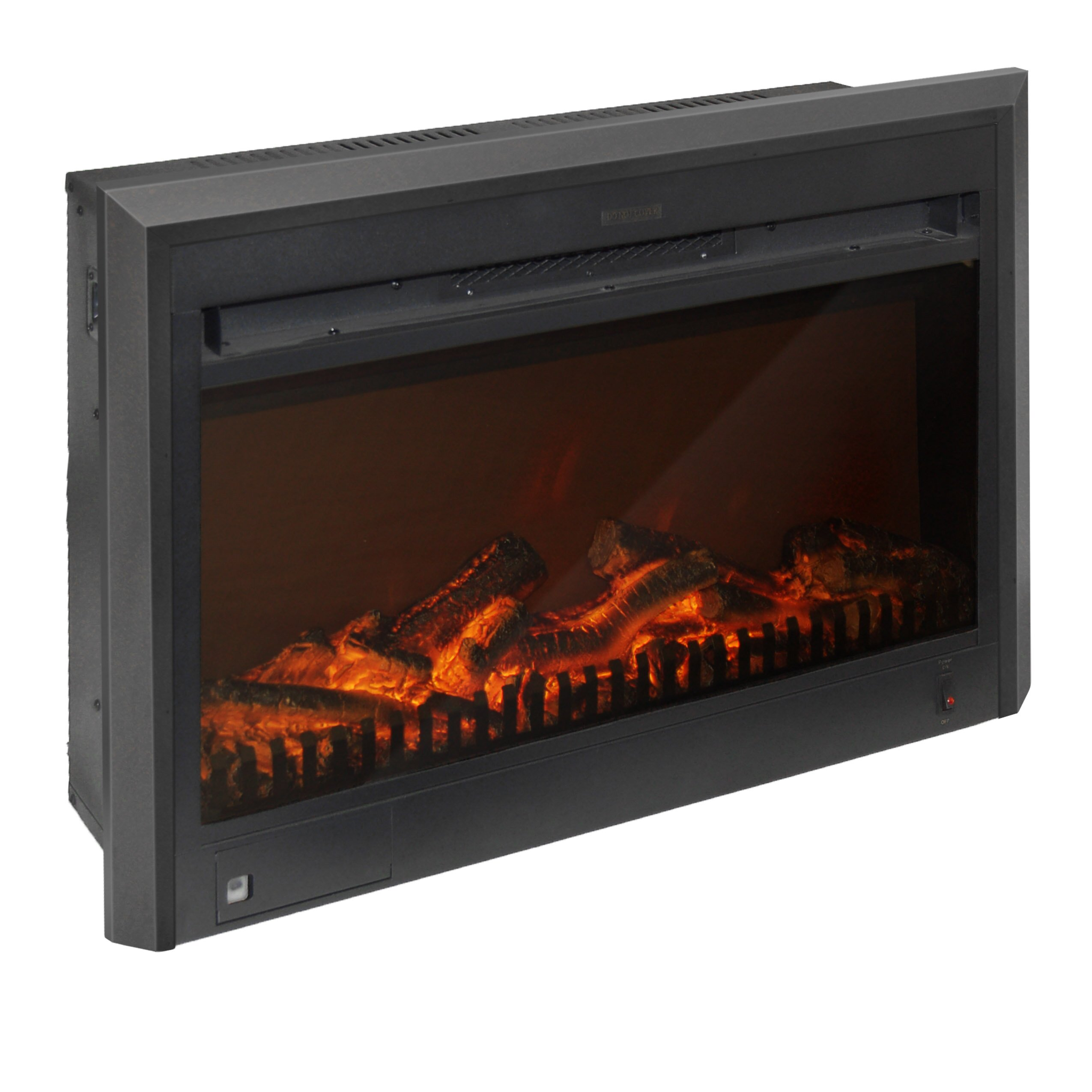 Corliving Electric Fireplace Insert Amp Reviews Wayfair