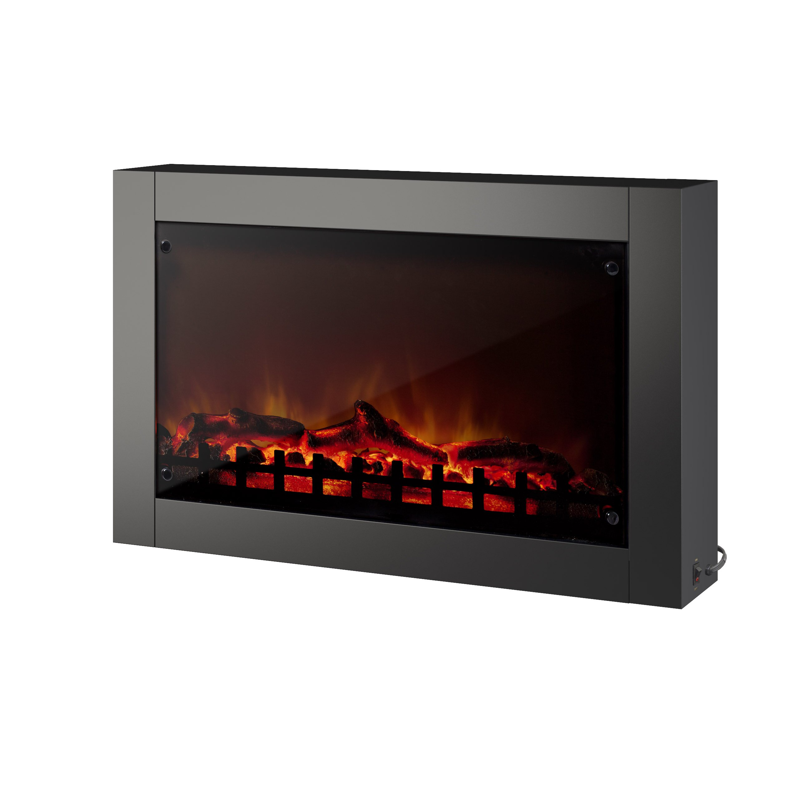 wall mounted electric fireplace by corliving