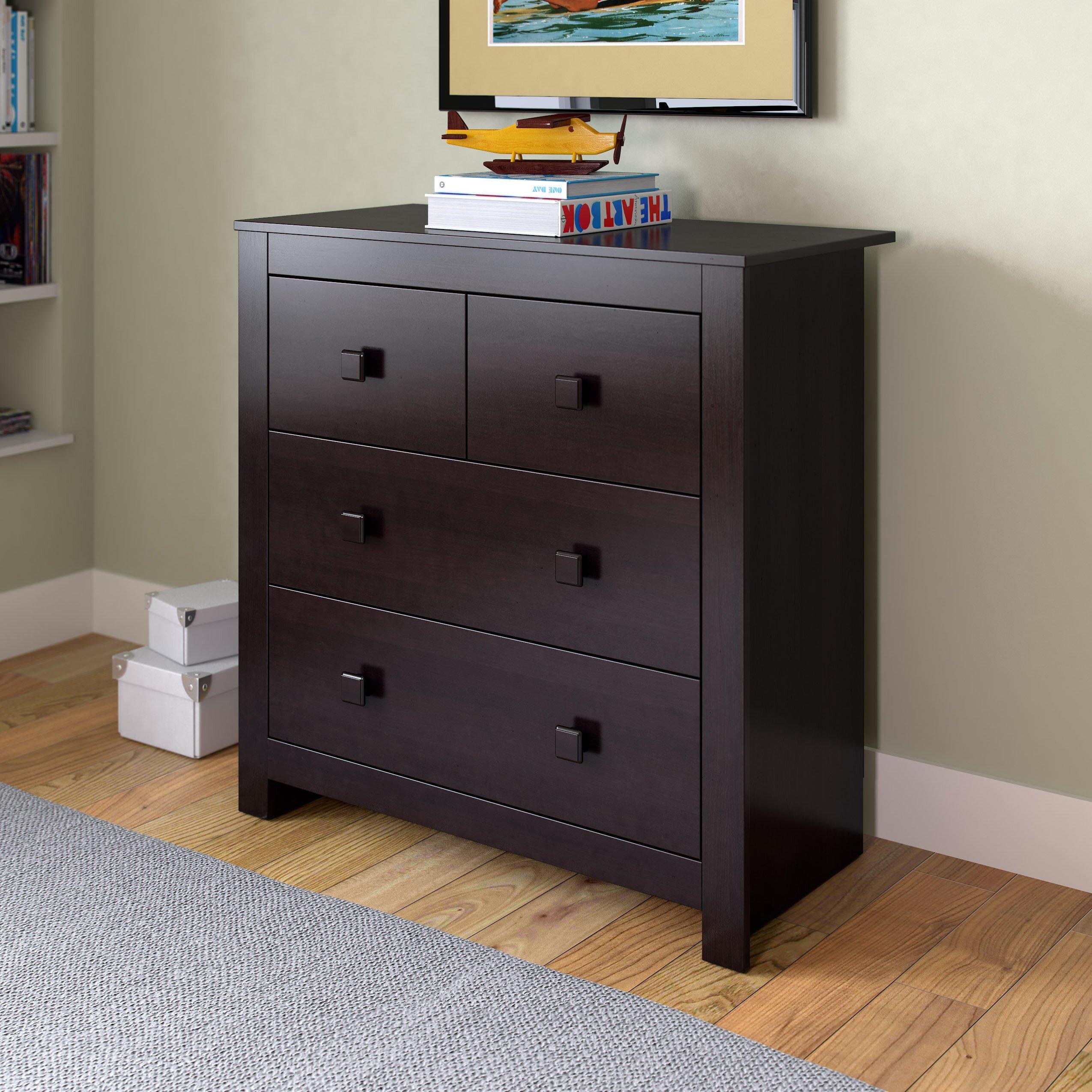 corliving madison 4 drawer dresser reviews wayfair. Black Bedroom Furniture Sets. Home Design Ideas