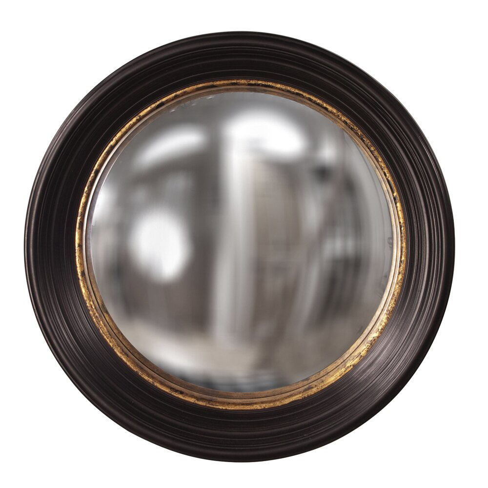 Howard elliott rex convex round wall mirror reviews for How to make a round frame for mirror