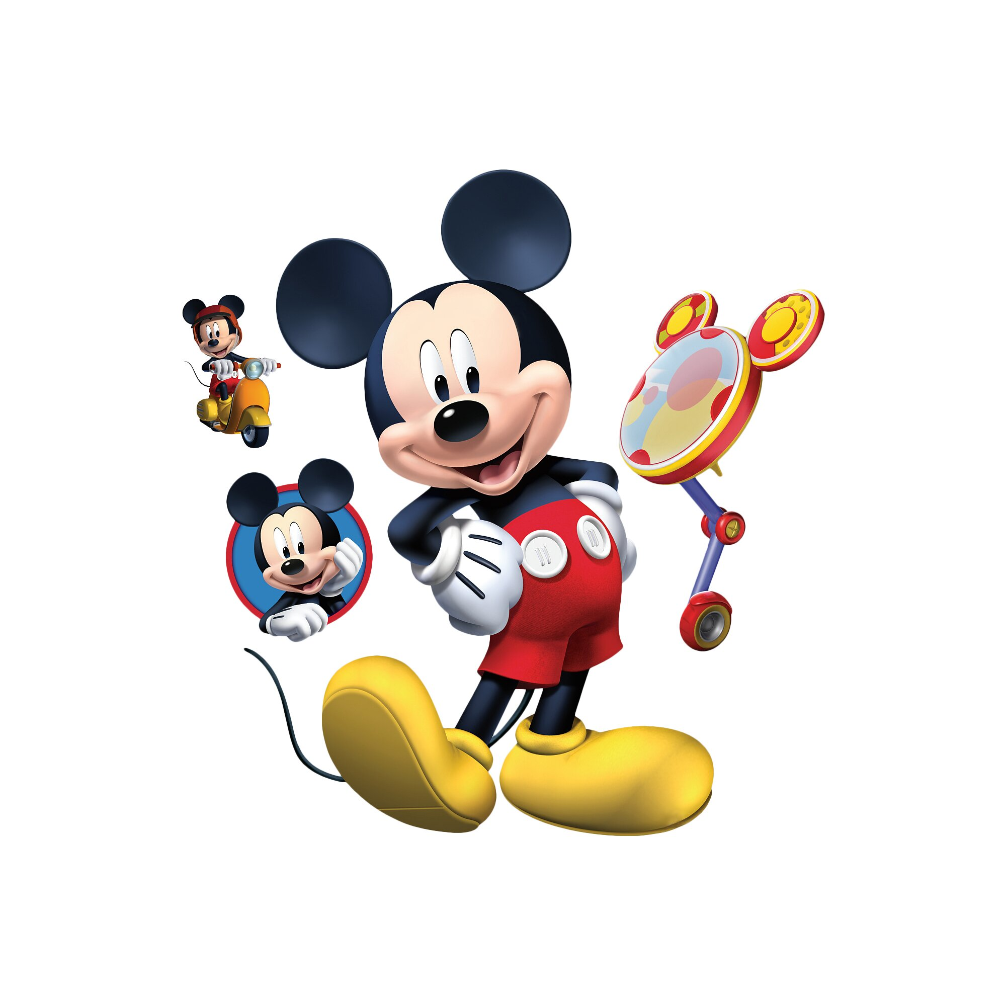 Fathead Disney Mickey Mouse Clubhouse Wall Decal Amp Reviews