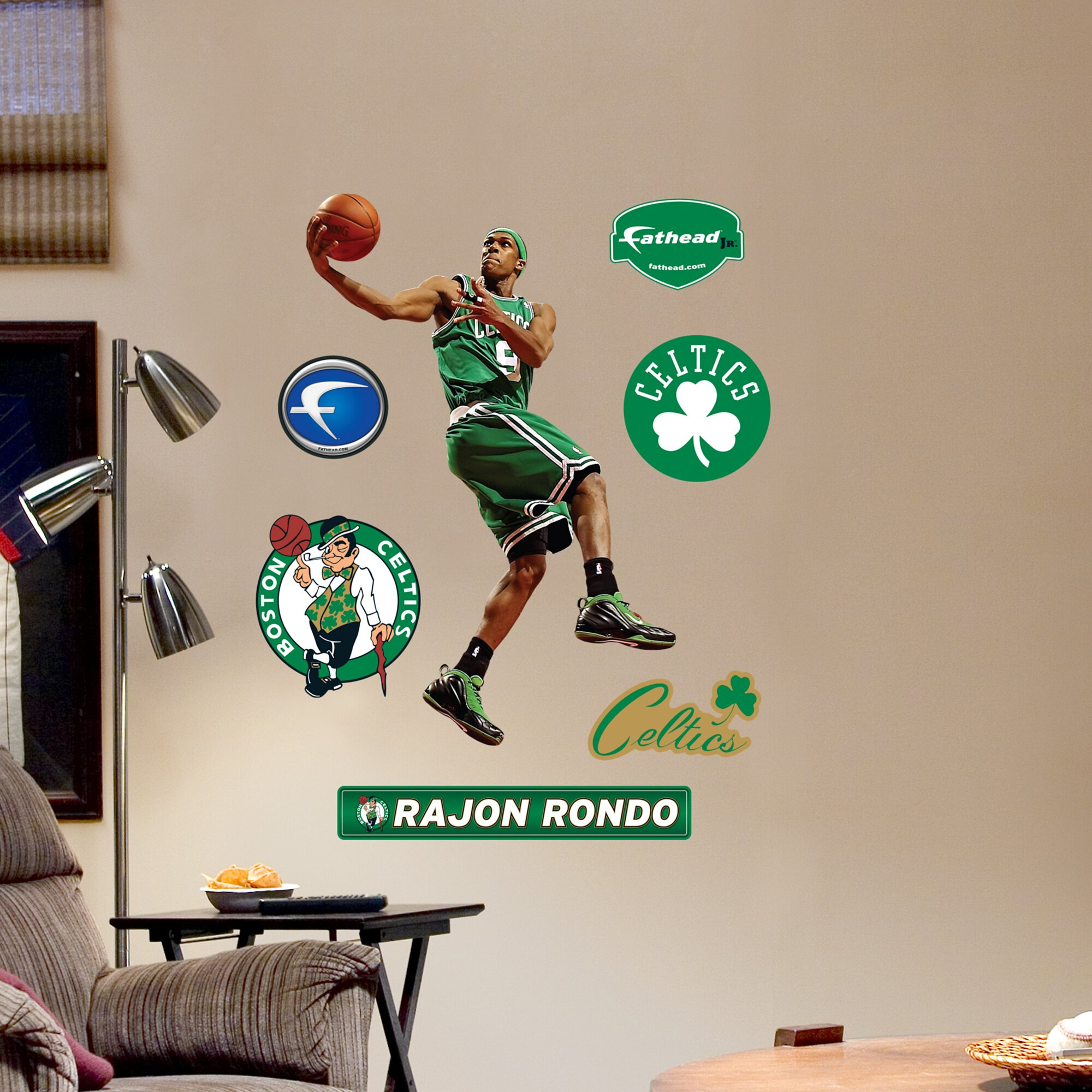 Fathead NBA Wall Decal & Reviews | Wayfair