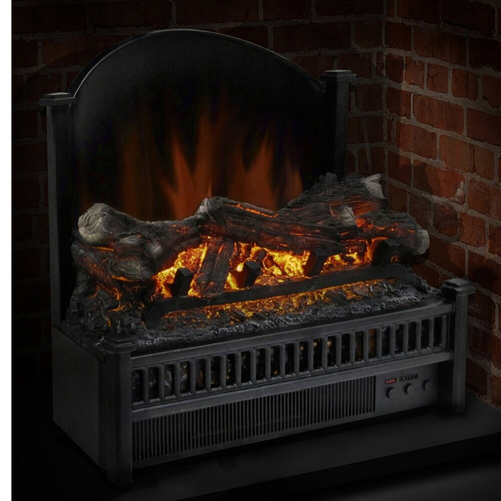 electric flame fireplace insert electric fireplace ebay convert