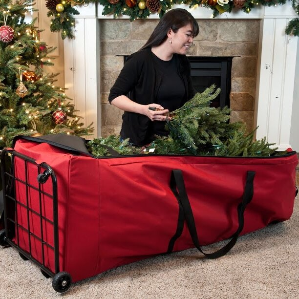 Treekeeper Santa S Bags Premium Christmas Tree Dolly Extra