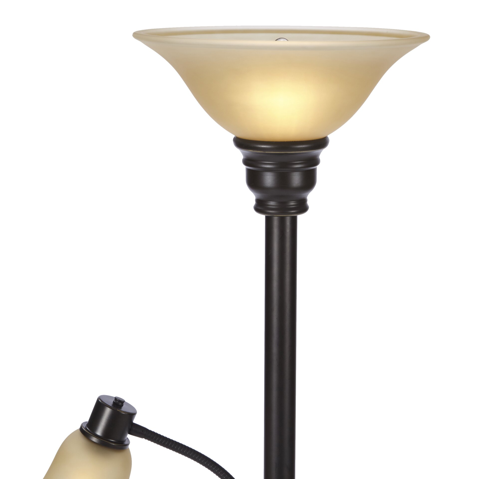 andover mills graham 71 torchiere floor lamp reviews wayfair. Black Bedroom Furniture Sets. Home Design Ideas