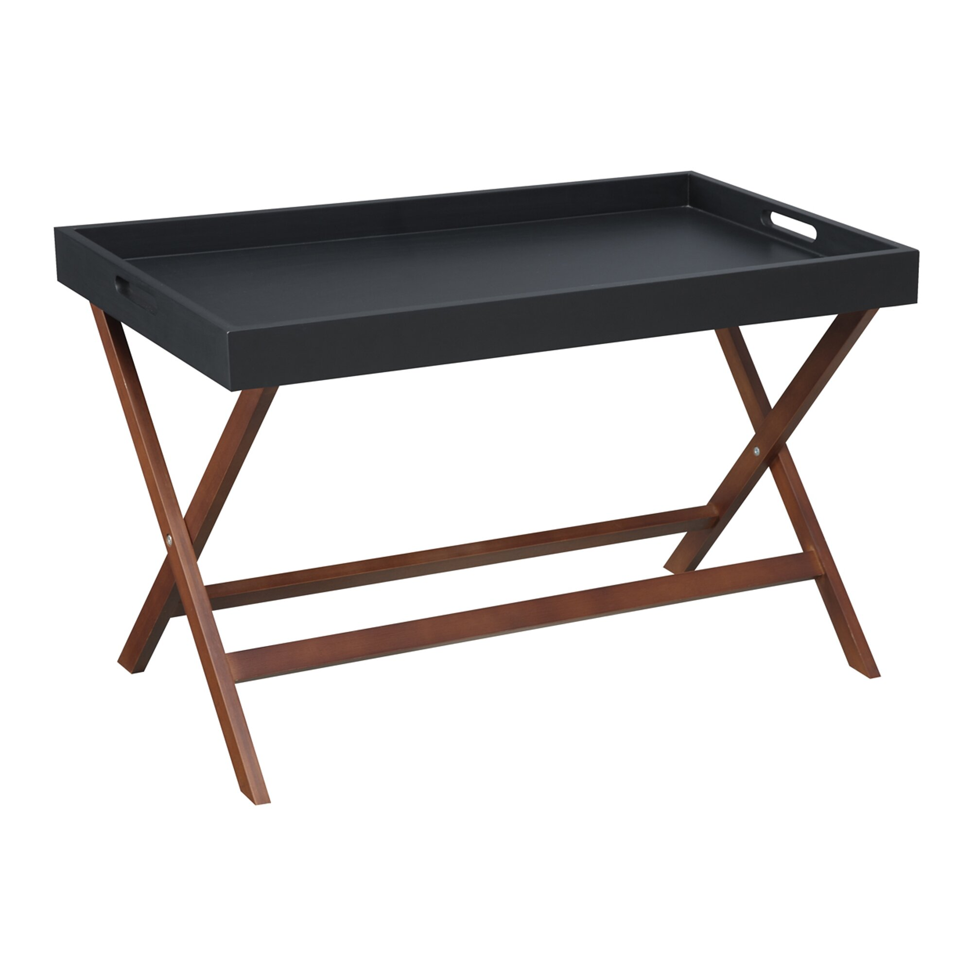 Anthropologie Coffee Table Tray: Andover Mills Lockheart Coffee Table With Removable Tray