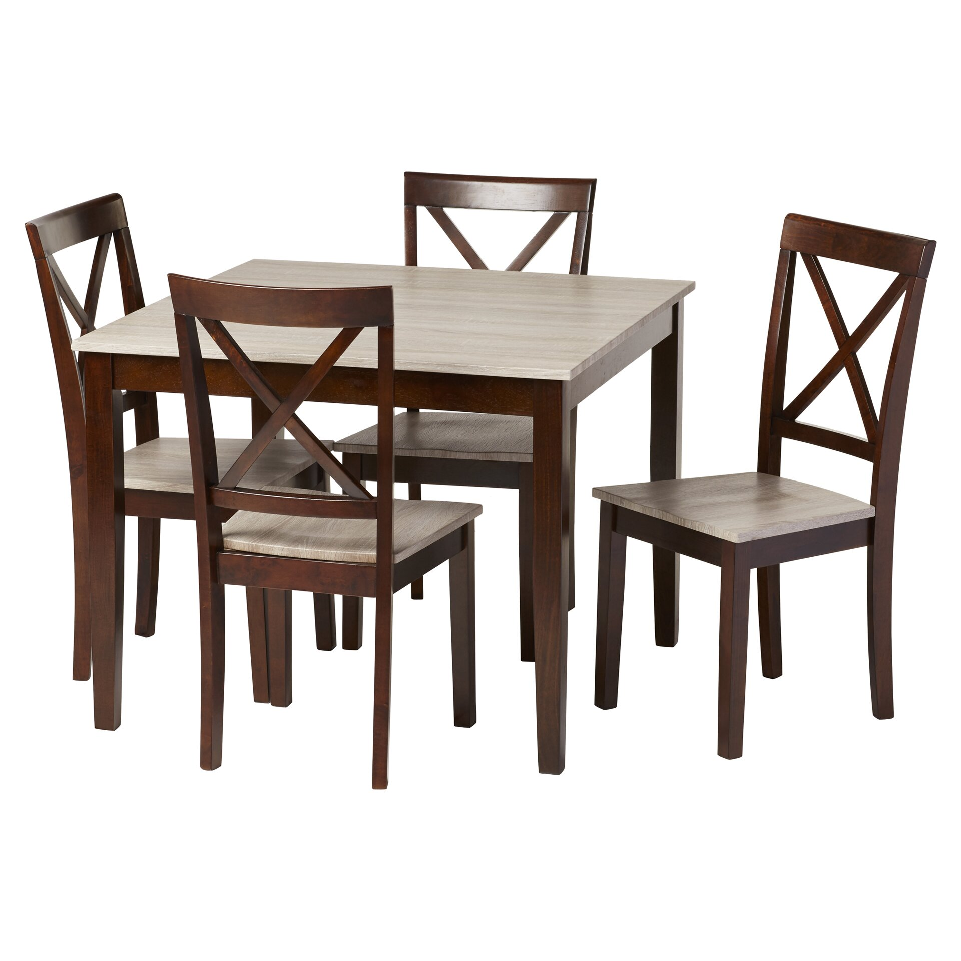Dining Room Sets Rustic: Andover Mills Rustic 5 Piece Dining Set & Reviews