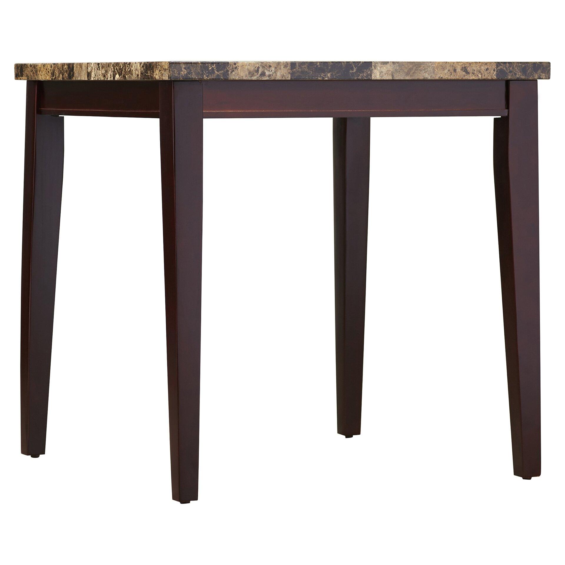 andover mills 5 piece pub table set reviews wayfair. Black Bedroom Furniture Sets. Home Design Ideas