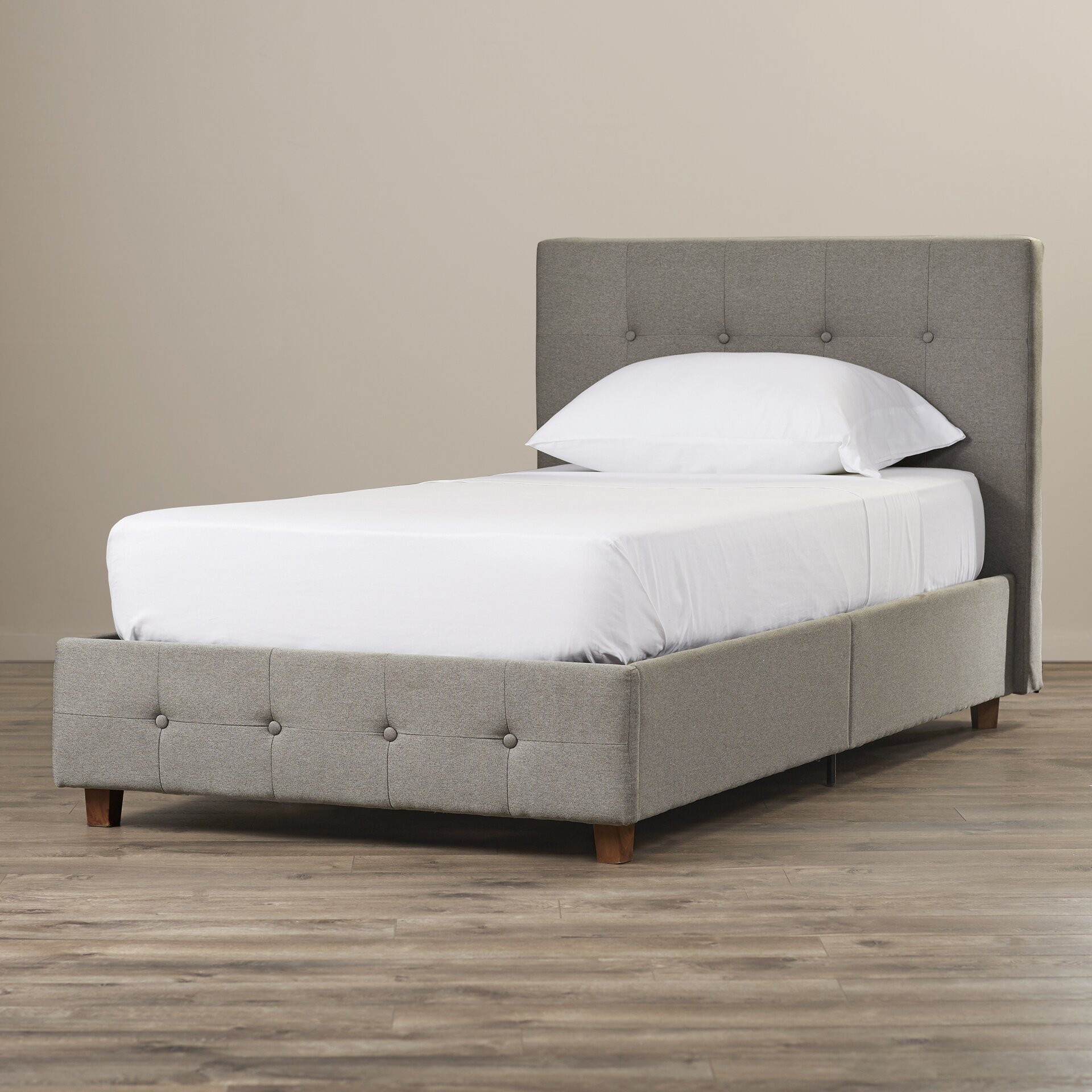 Andover Mills Amherst Upholstered Panel Bed & Reviews | Wayfair
