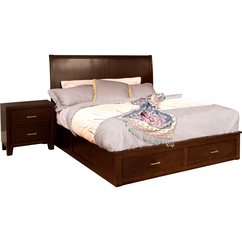 andover mills platform customizable bedroom set reviews