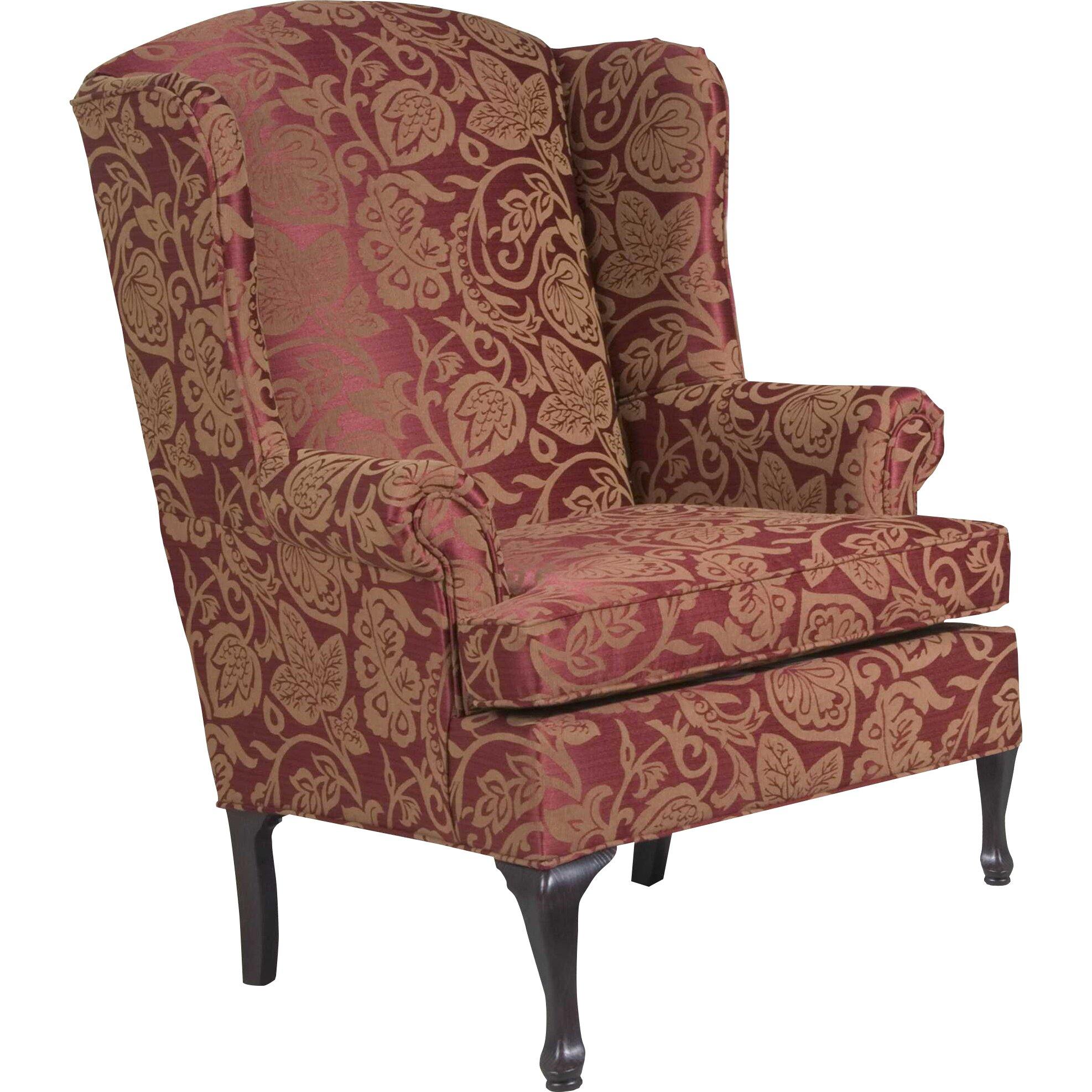 Three posts palmdale serta upholstery wingback chair for Wingback chair