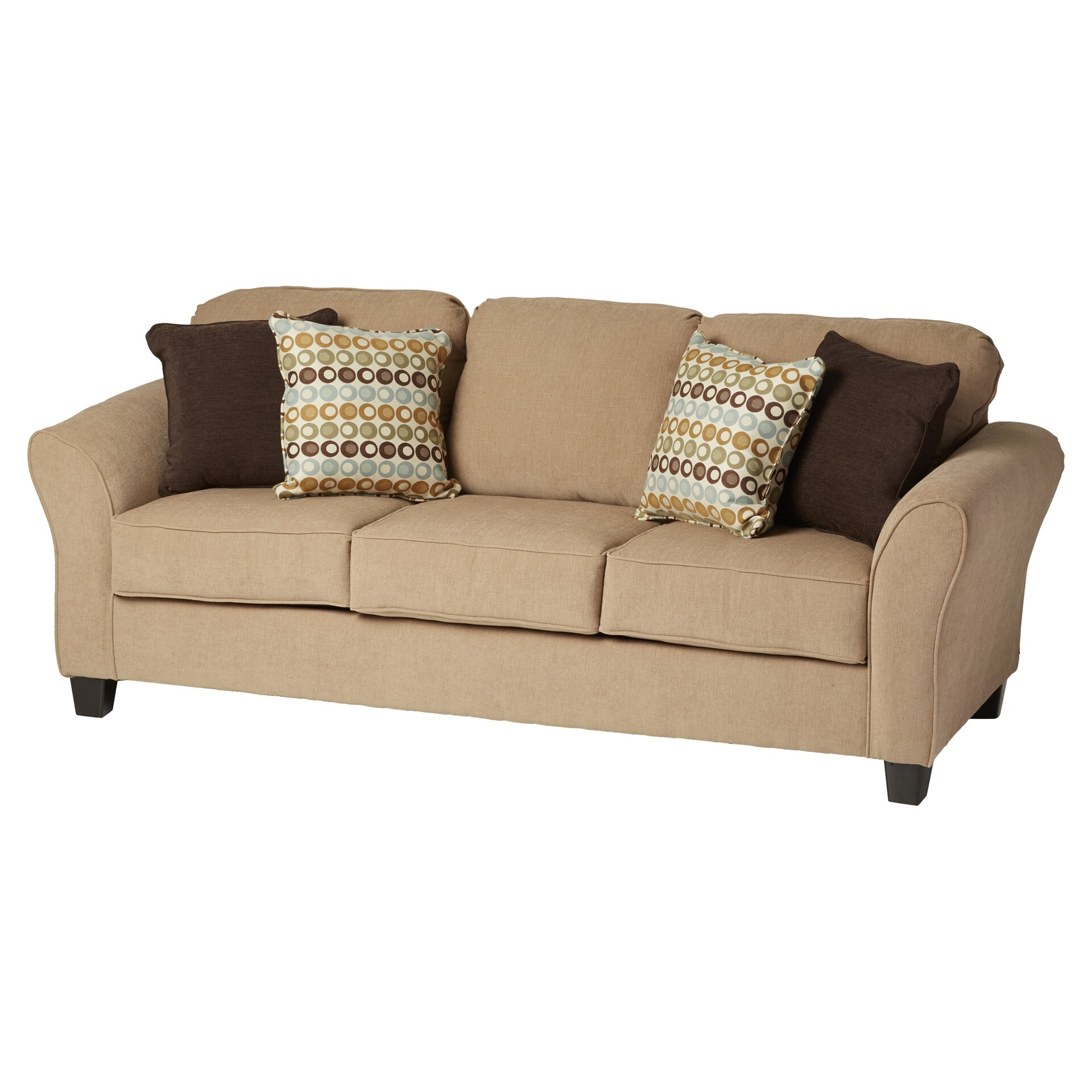 Three Posts Serta Upholstery Franklin Sofa Reviews Wayfair