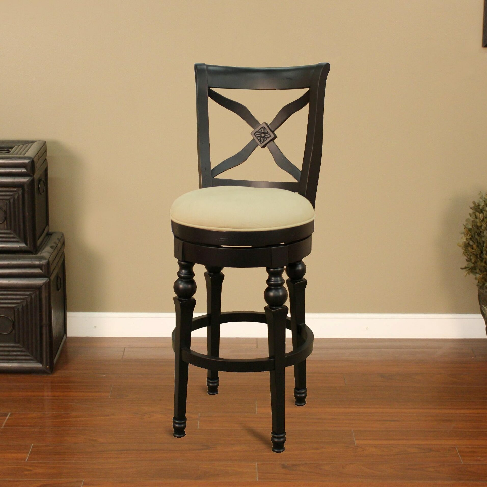 Livingston 30 Quot Swivel Bar Stool Wayfair