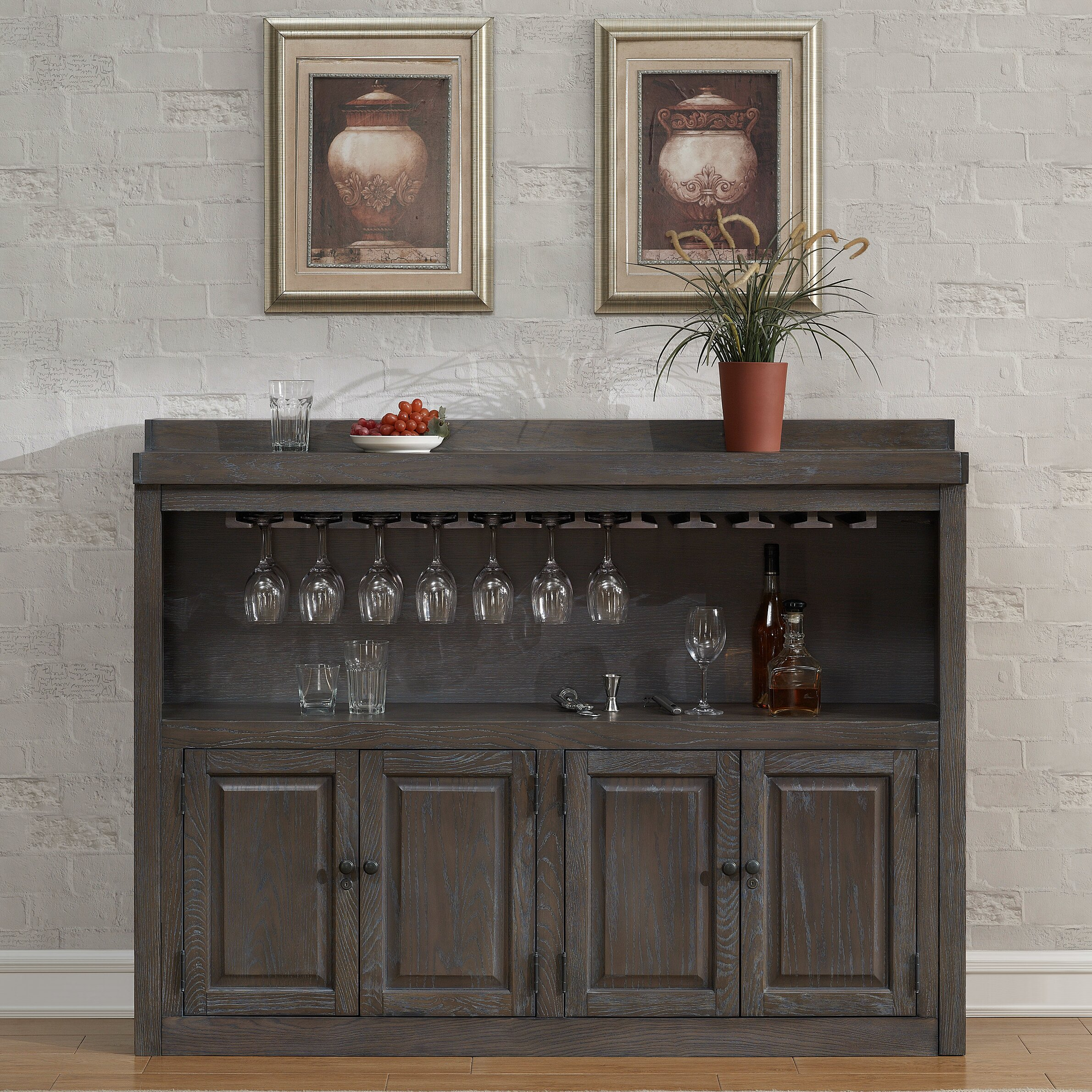american heritage martino bar cabinet with wine storage reviews