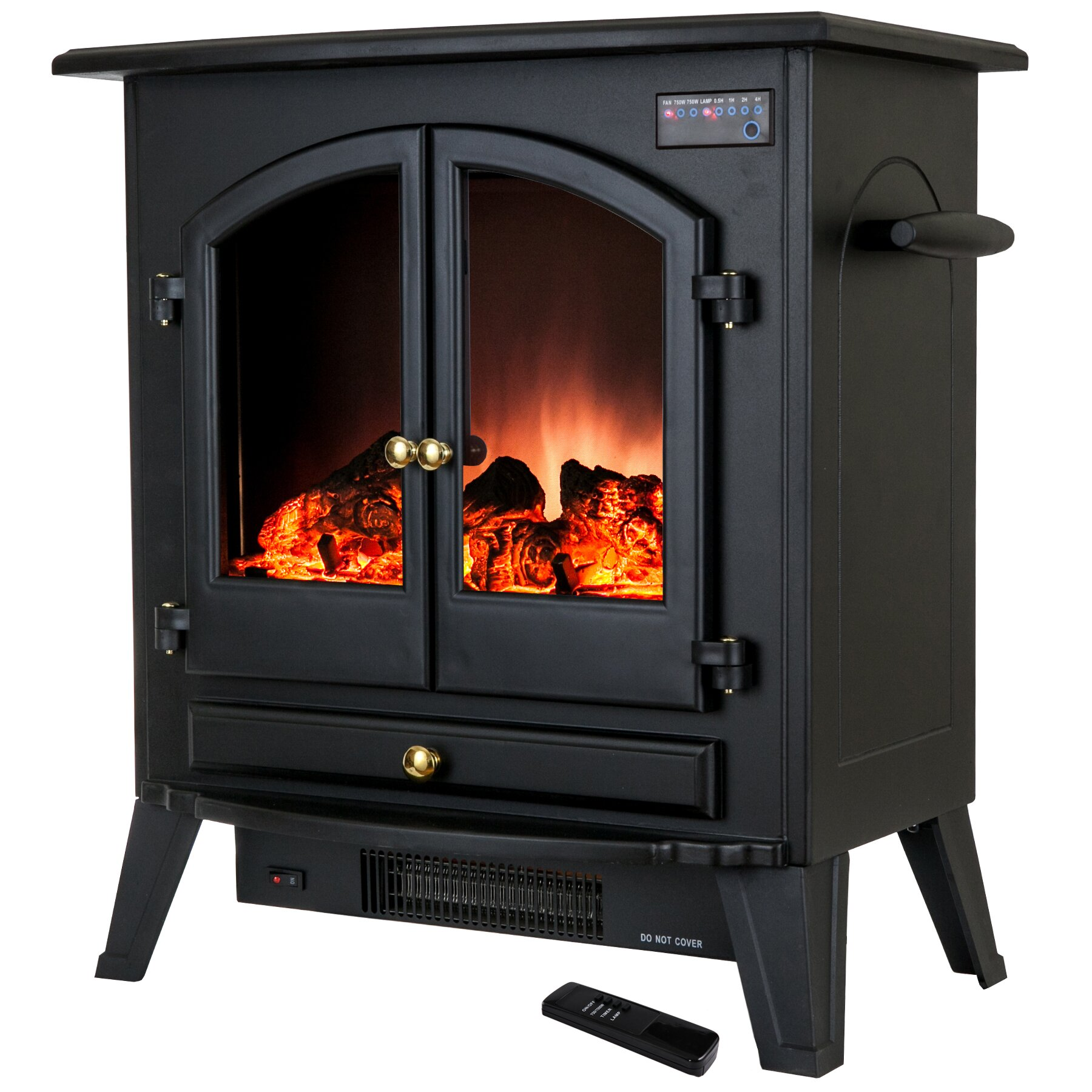 Akdy Freestanding Electric Fireplace Reviews Wayfair